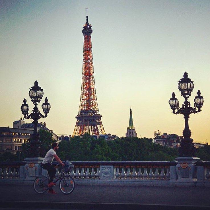 Paris en vélo