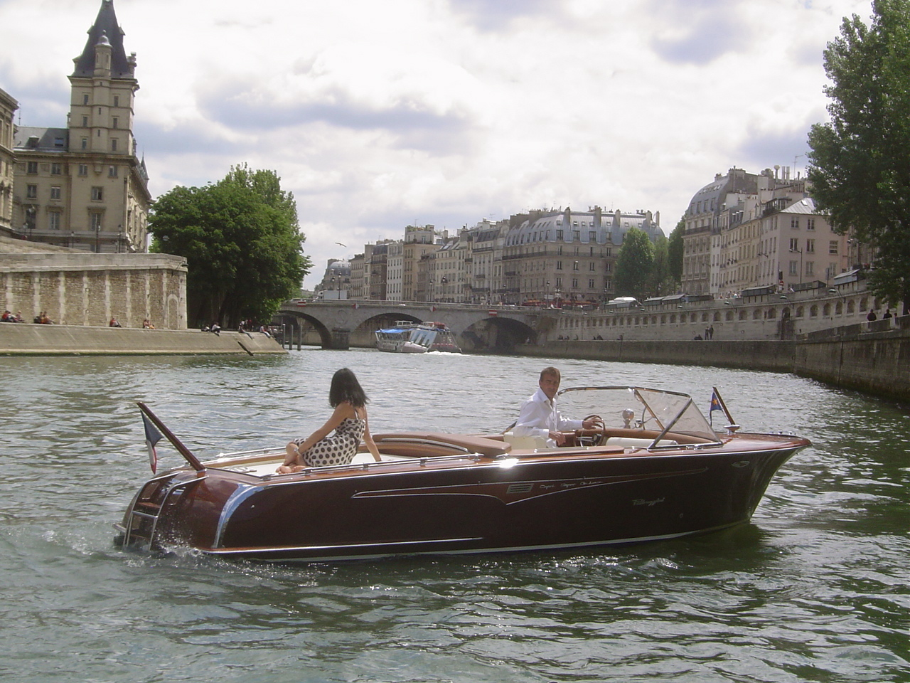 Paris Luxury Boat Riva
