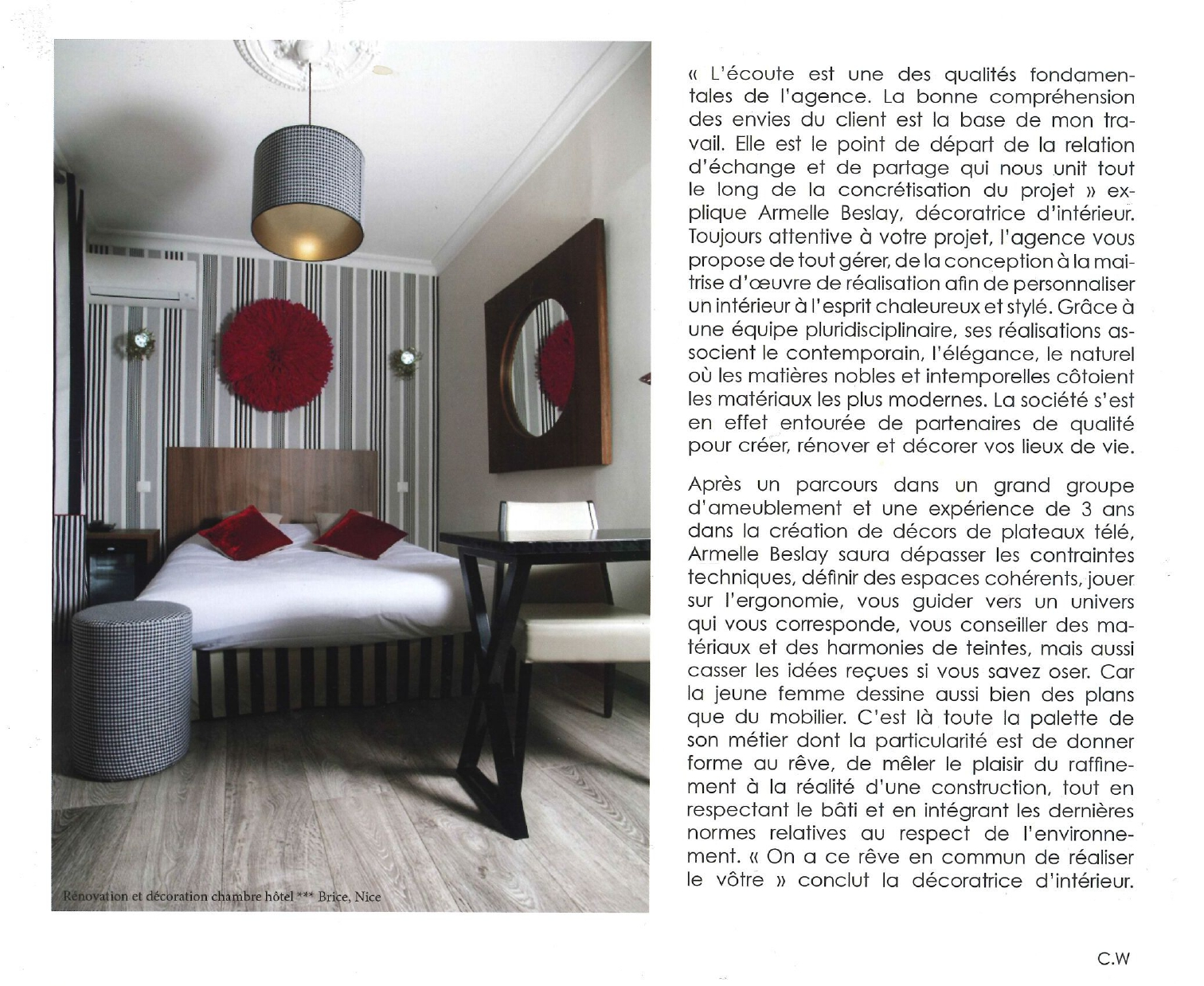 Perspective N°19 - Best Western Plus Hôtel Brice Garden Nice