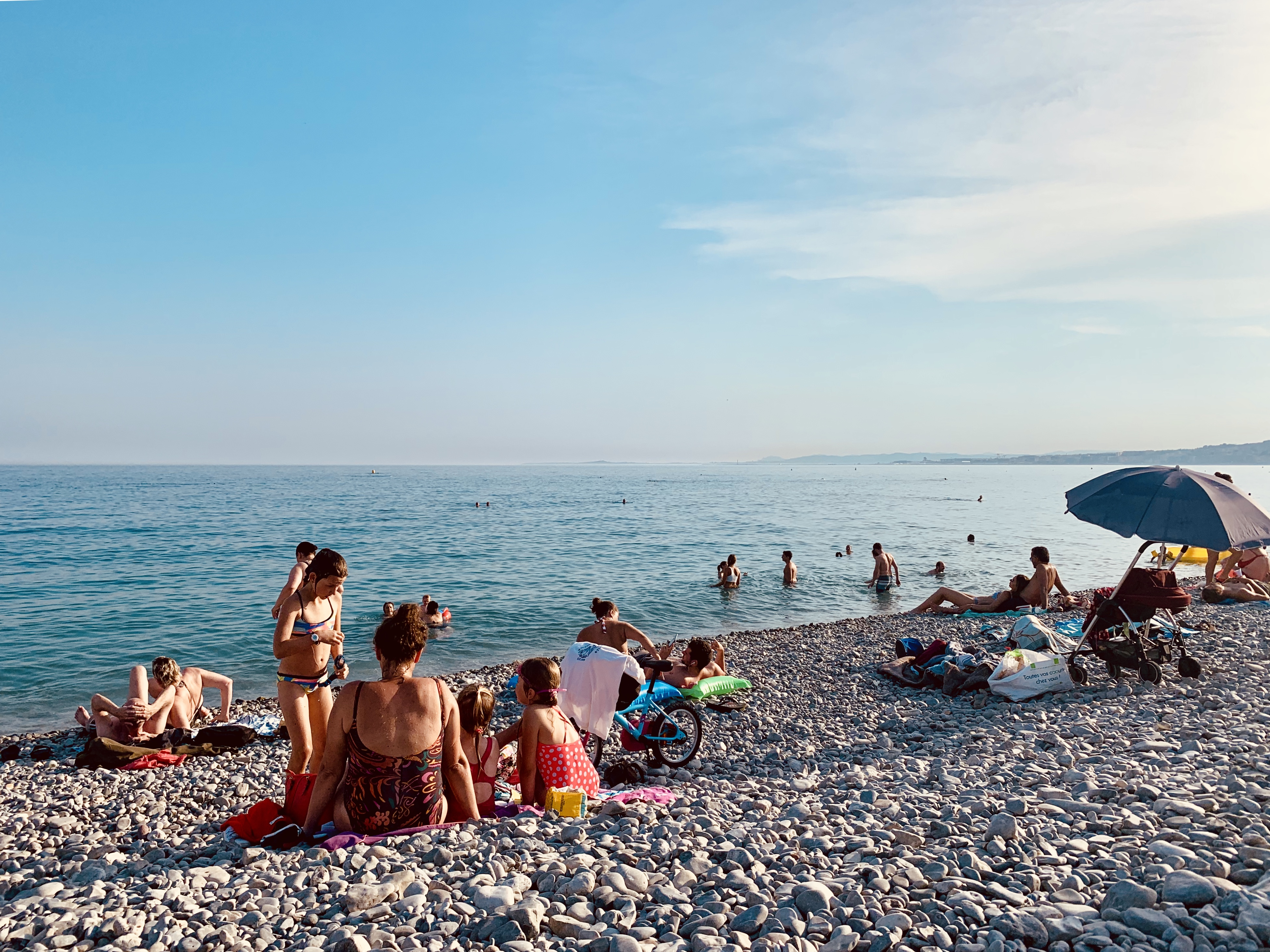 Beach of the Promenade des Anglais - Credit Summer Hotels