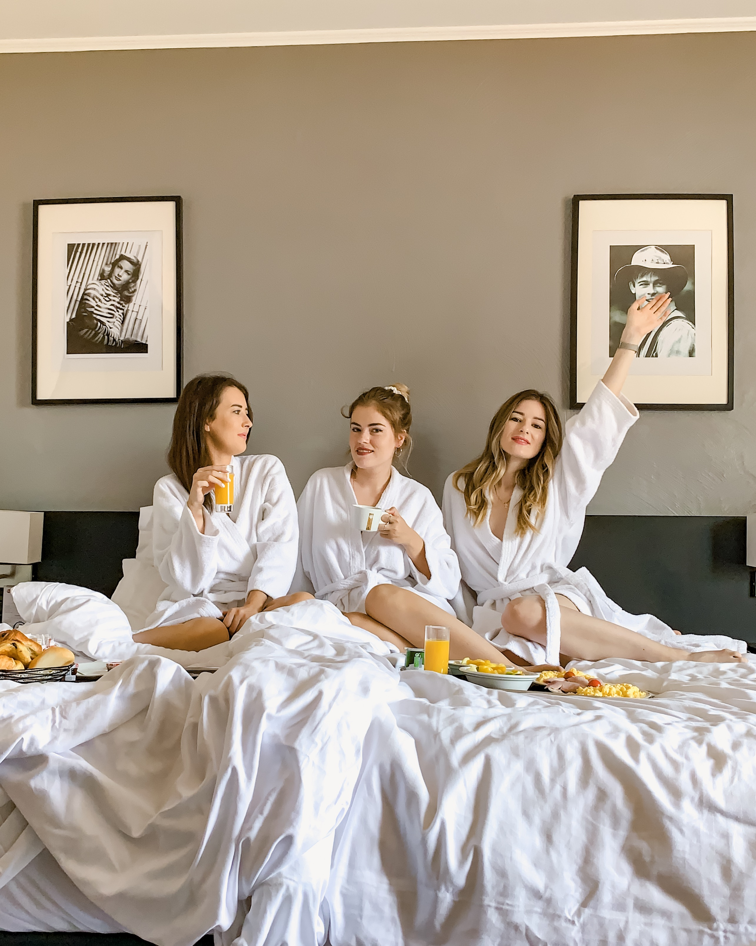 Breakfast in bed - Holidays for girls in Nice - Best Western Plus Hotel Masséna Nice