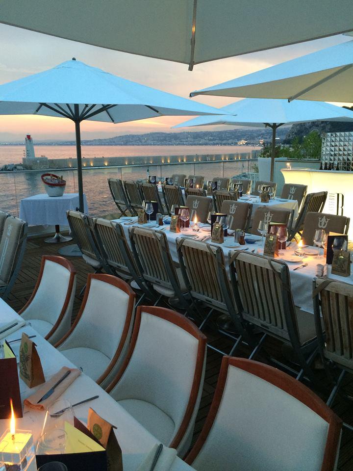 © La Réserve de Nice - New Year's Restaurant