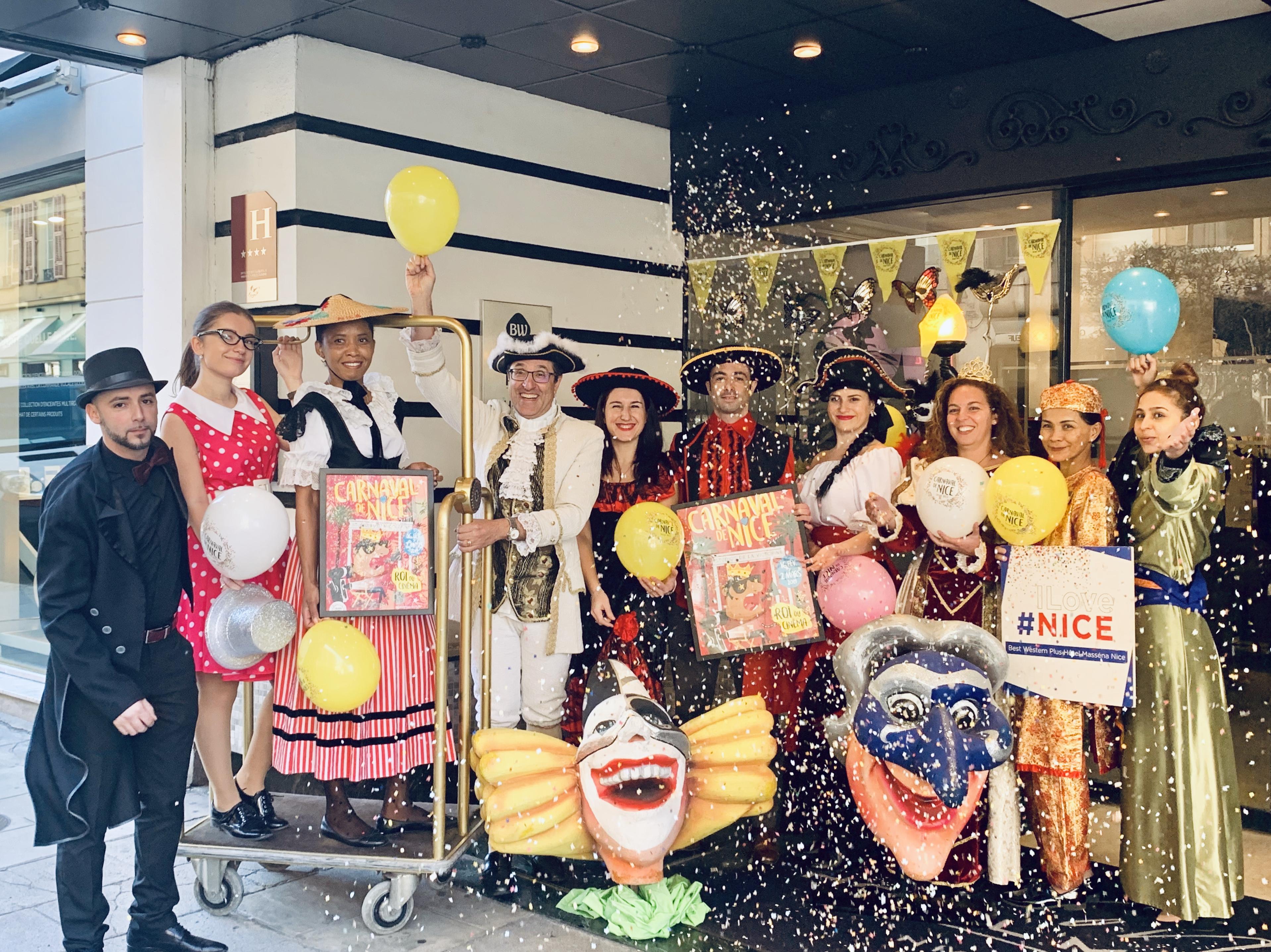 Carnaval de Nice au Best Western Plus Hôtel Masséna Nice