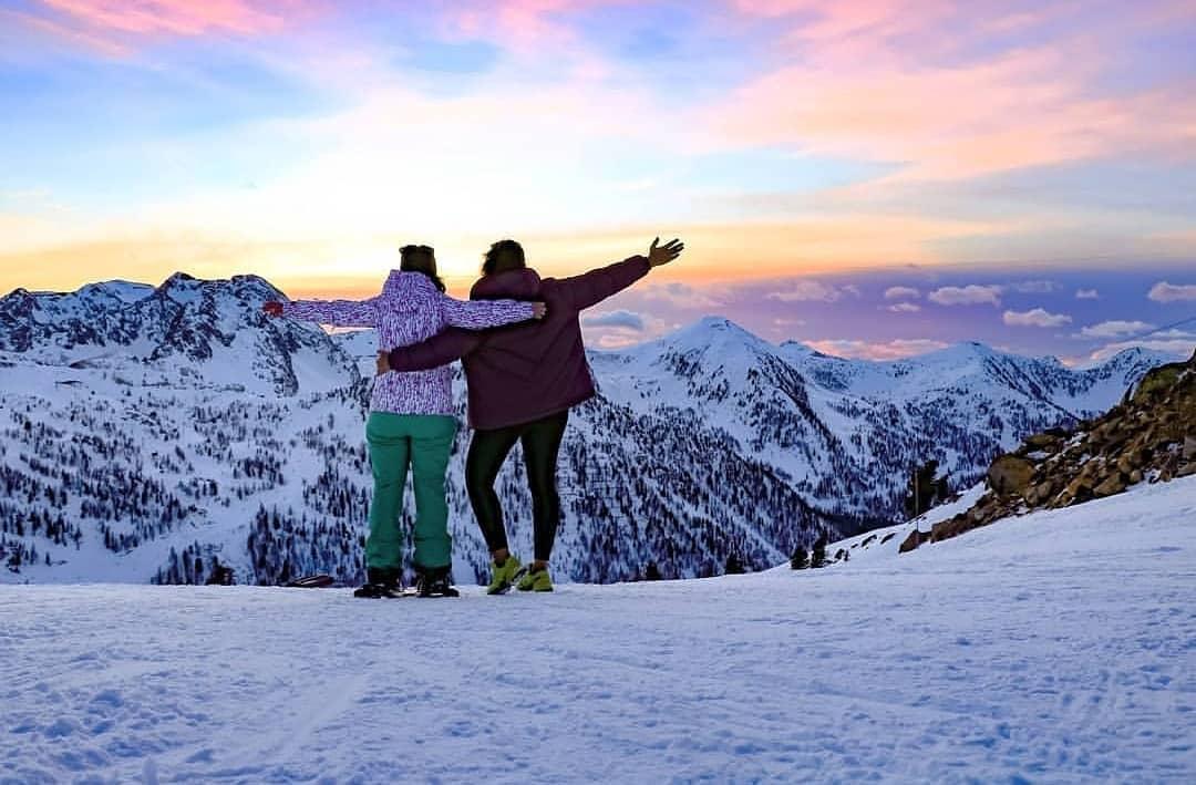 Ski à Nice - Crédit Isola2000