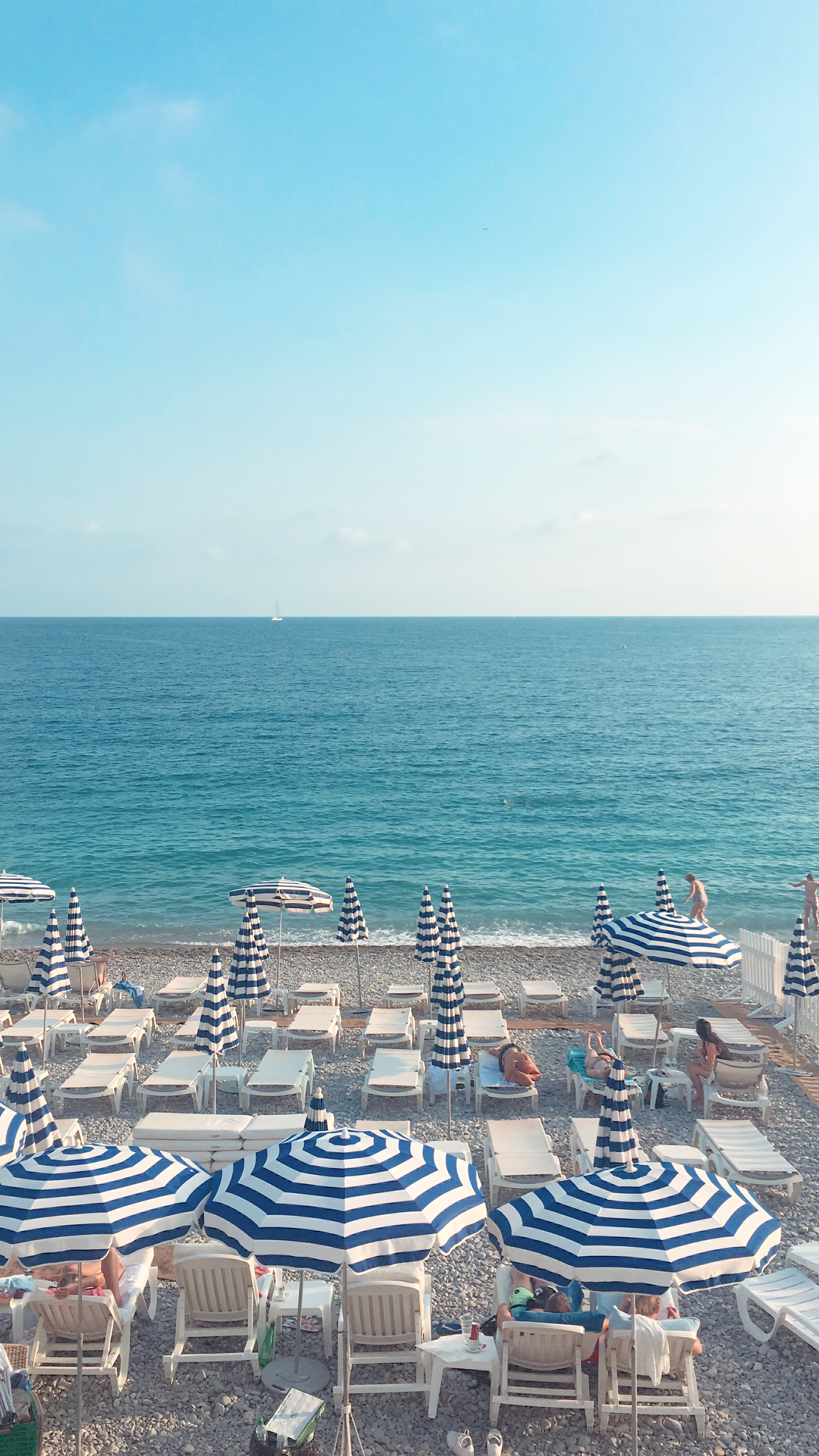 Private Beach Ruhl Nice - © Best Western Plus Hotel Massena Nice
