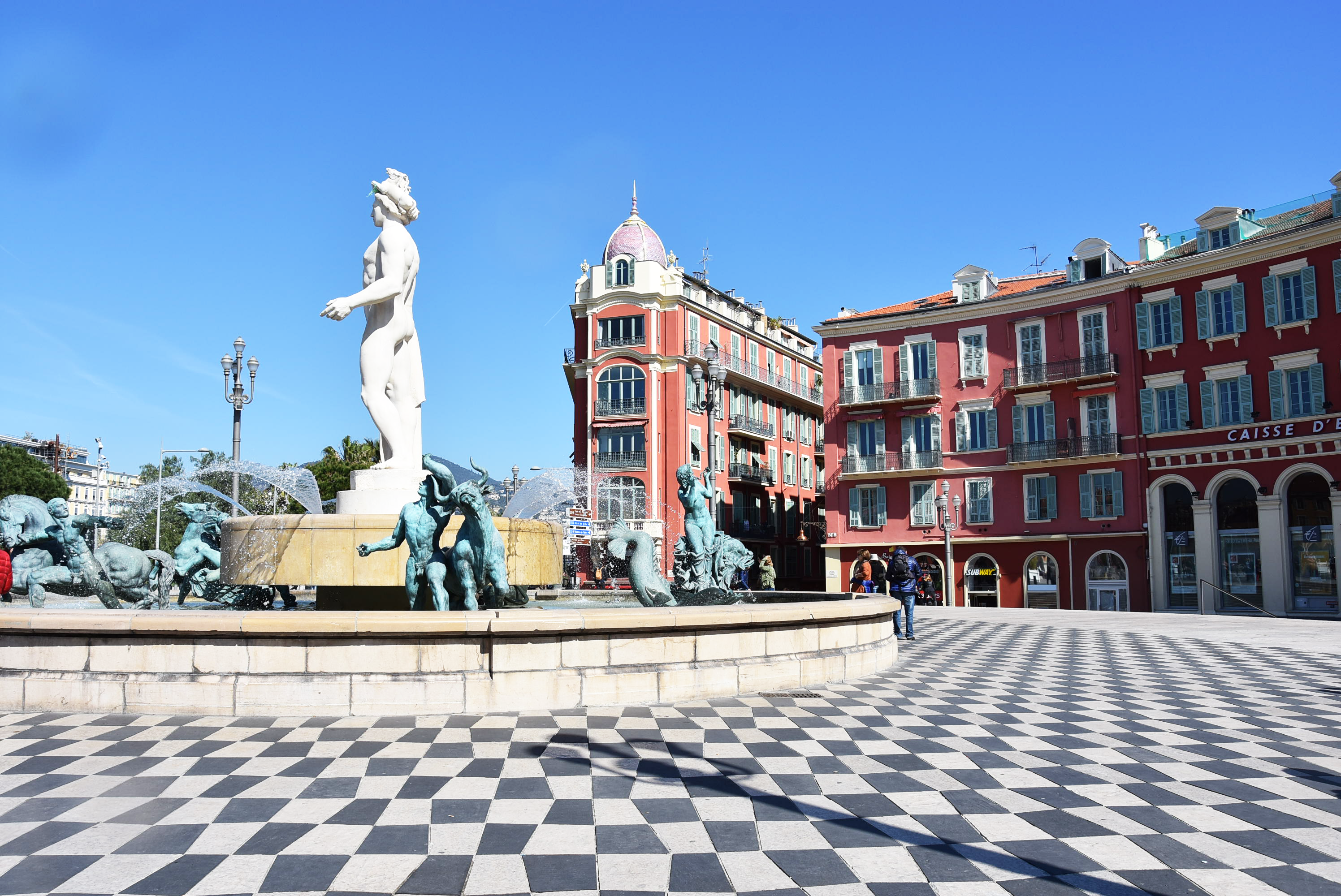 Place Masséna Nice - Crédit : Summer Hotel Group