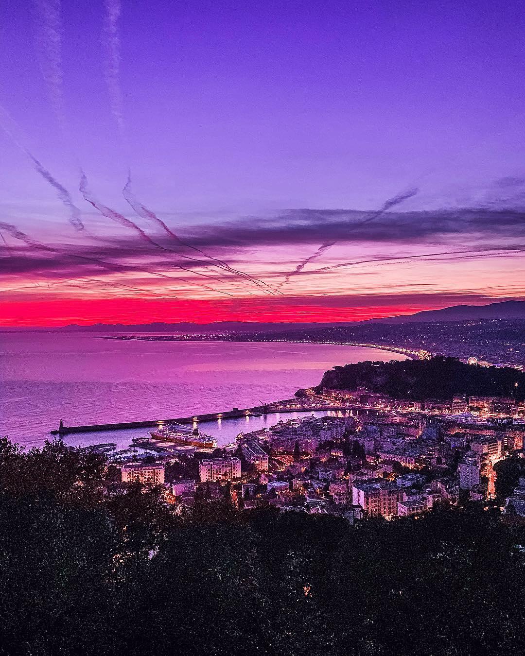 5 lieux où admirer le coucher de soleil à Nice - Mont Boron