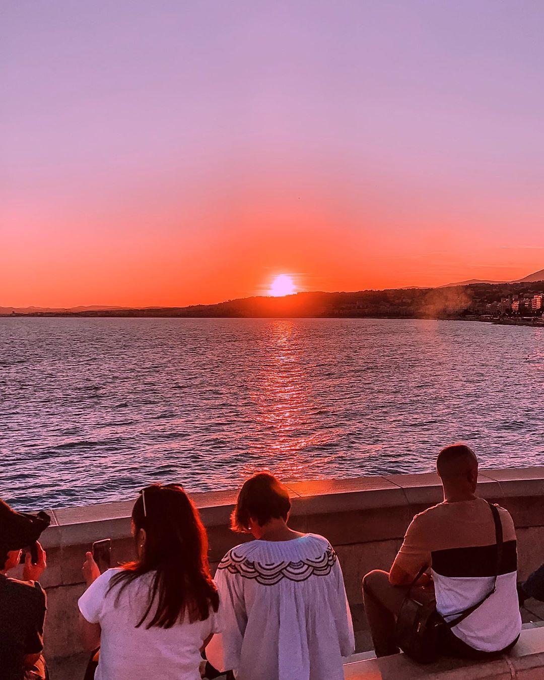 5 lieux où admirer le coucher de soleil à Nice - Quai Rauba Capeu