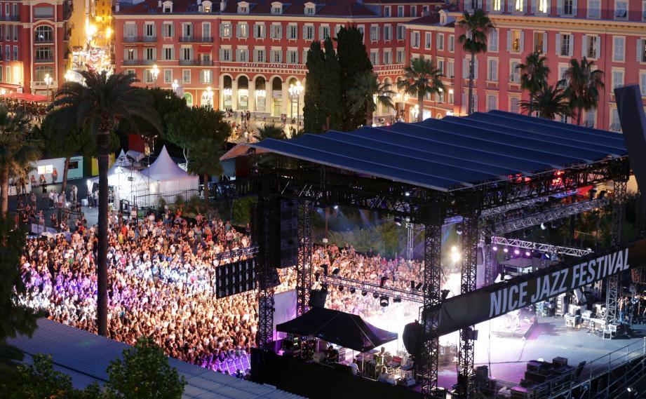Musical show Nice Jazz Festival - Credit : Nice Matin