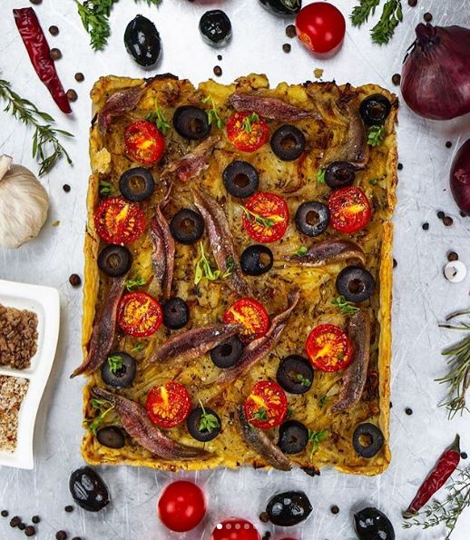 Pissaladière Nice - Credit: feedme_daily