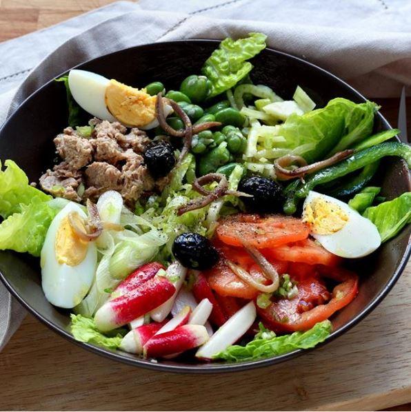 Salade niçoise - Credit: 750gramme