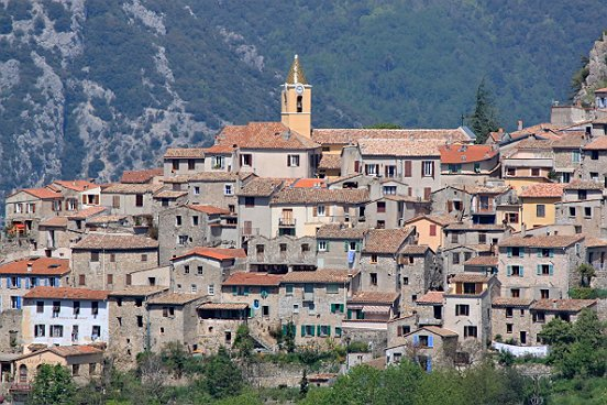 Village of Sainte Agnès - Credit: The County of Nice
