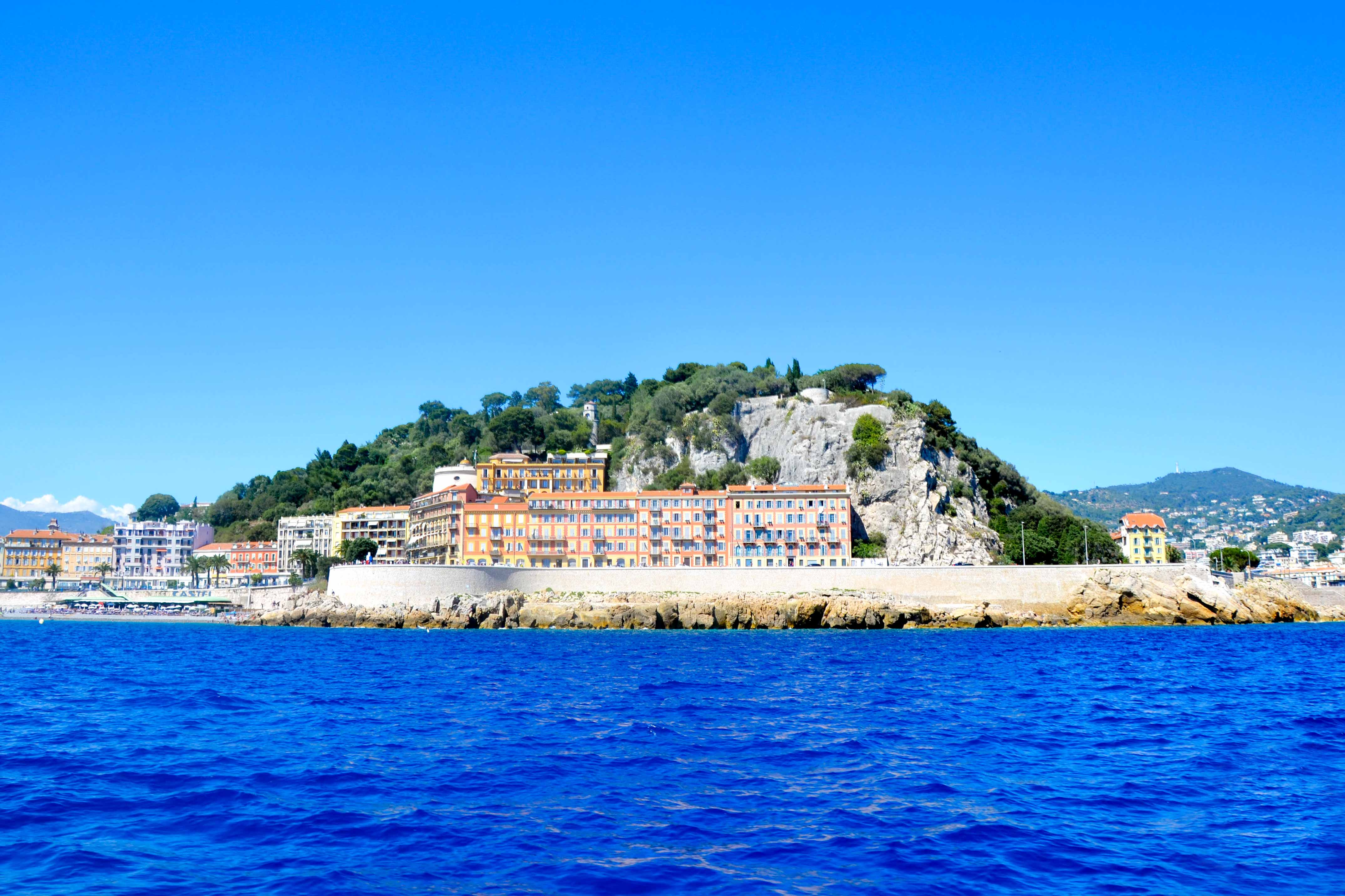 Le Parc de la Colline du Château de Nice - Crédit Summer Hotels