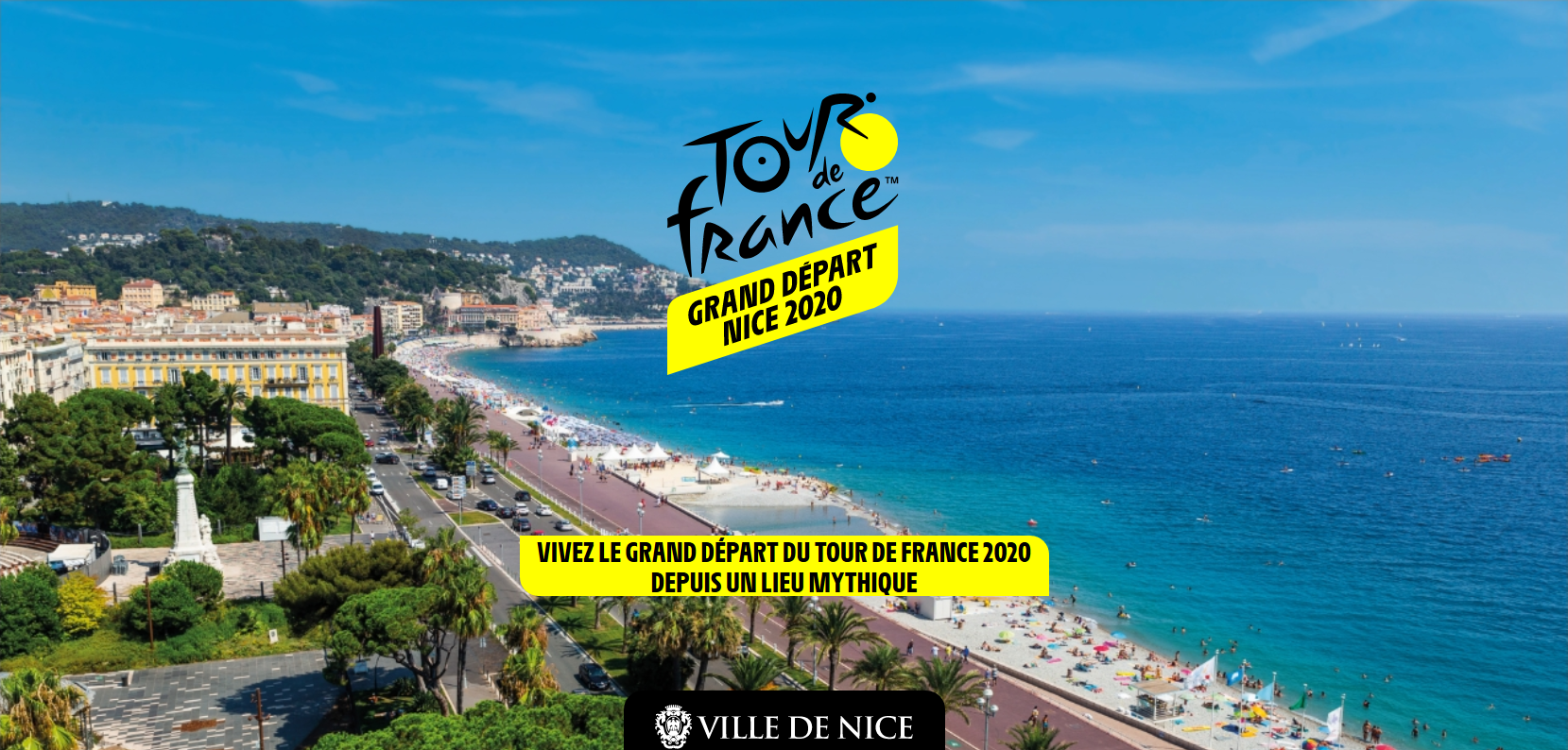 Your 3-star hotel for the start of the Tour de France 2020 in Nice - Crédit ville de Nice
