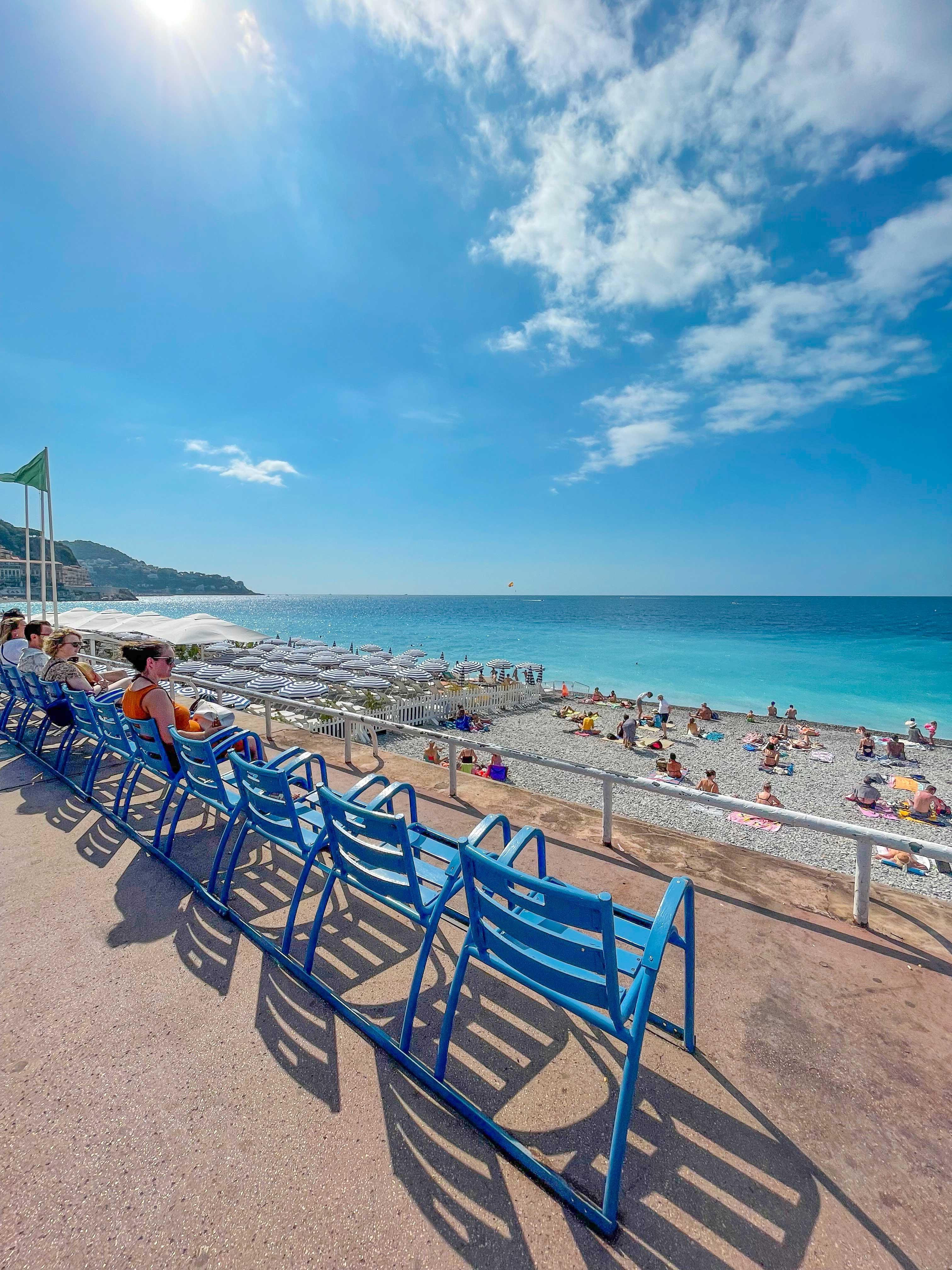 La Promenade des Anglais à Nice - Crédit Summer Hotels