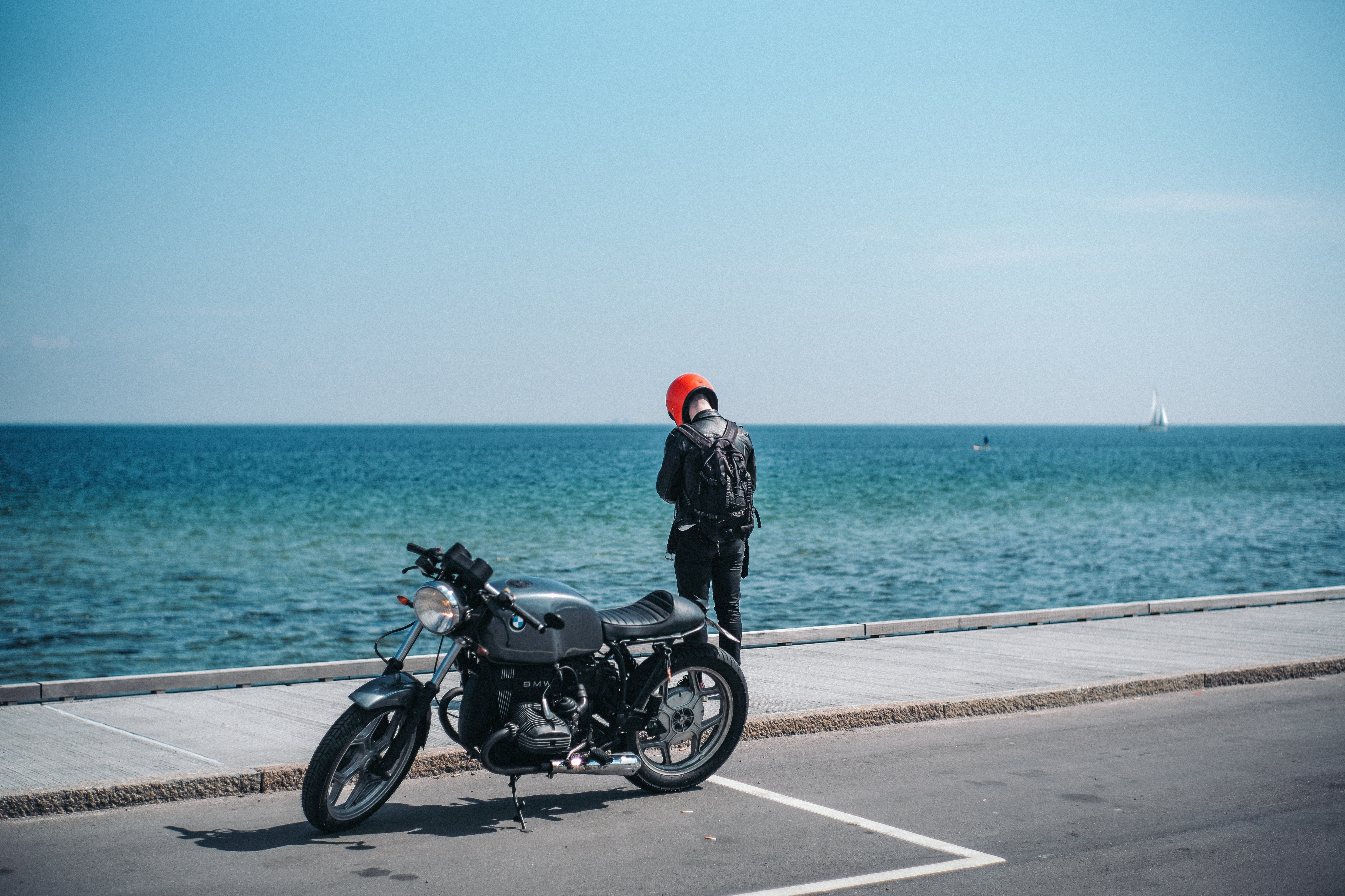 French Riviera on a moto - Credit Martin Pelle Unsplash