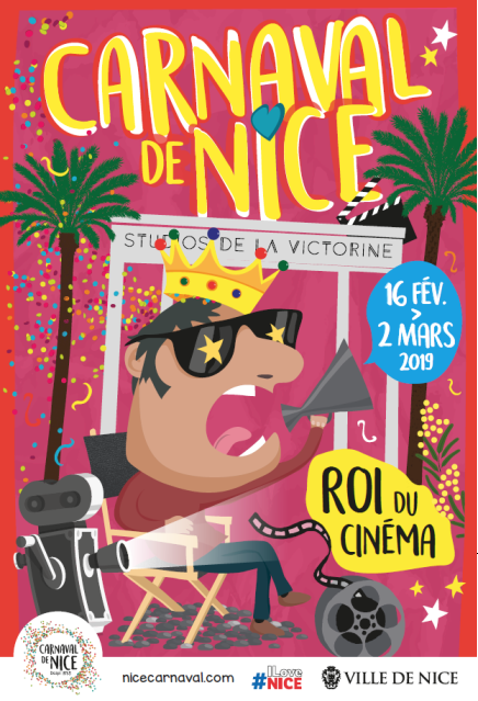 Carnival of Nice 2019 poster