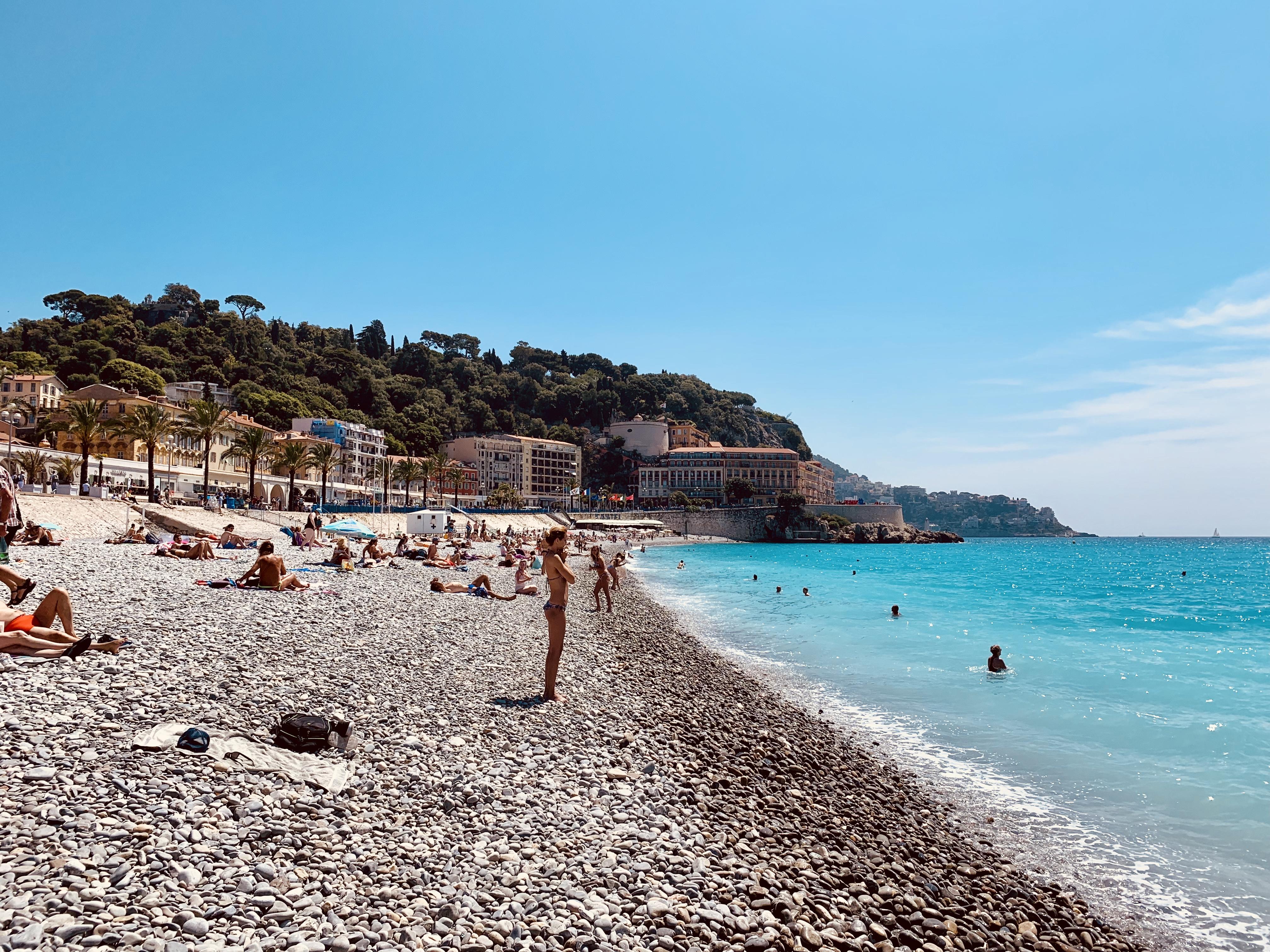 Beach Promenade des Anglais Nice - Credit Summer Hotels