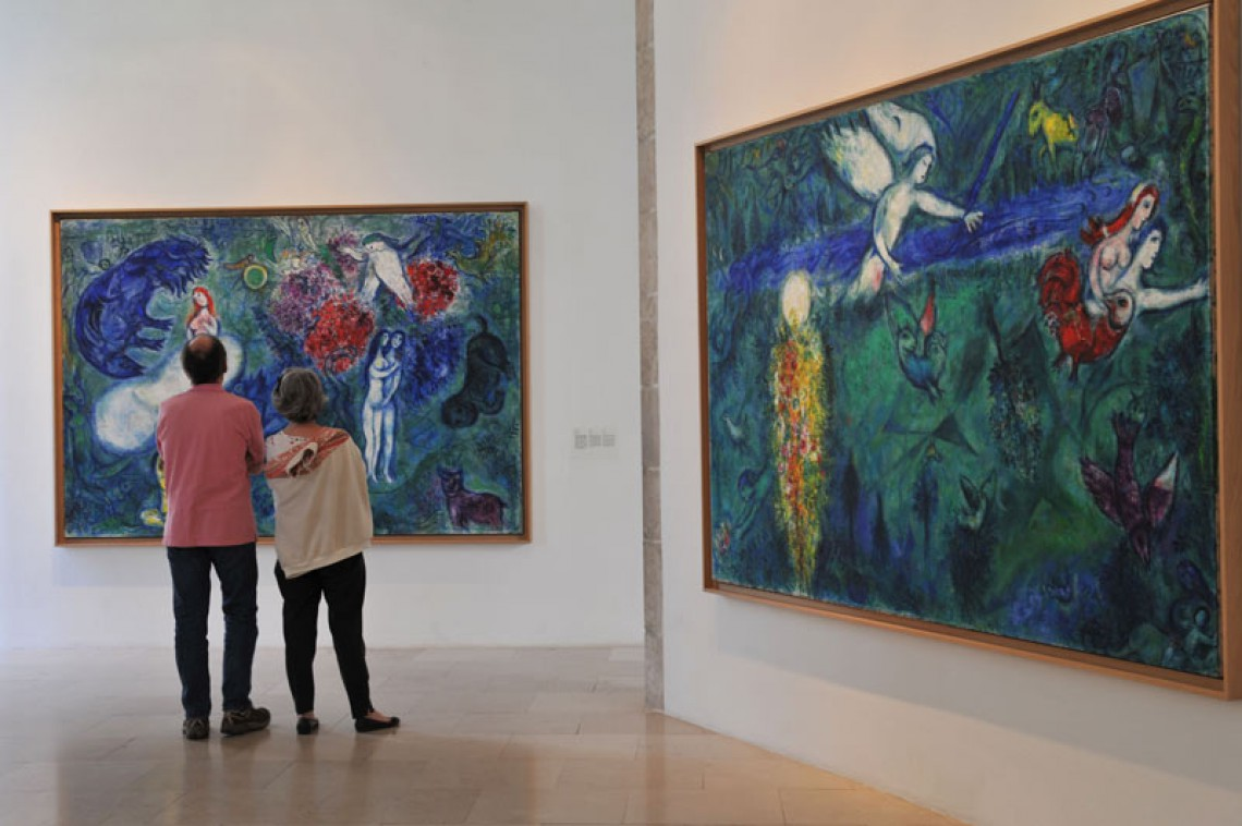 Marc Chagall National Museum - Credit: Nice Tourist Office