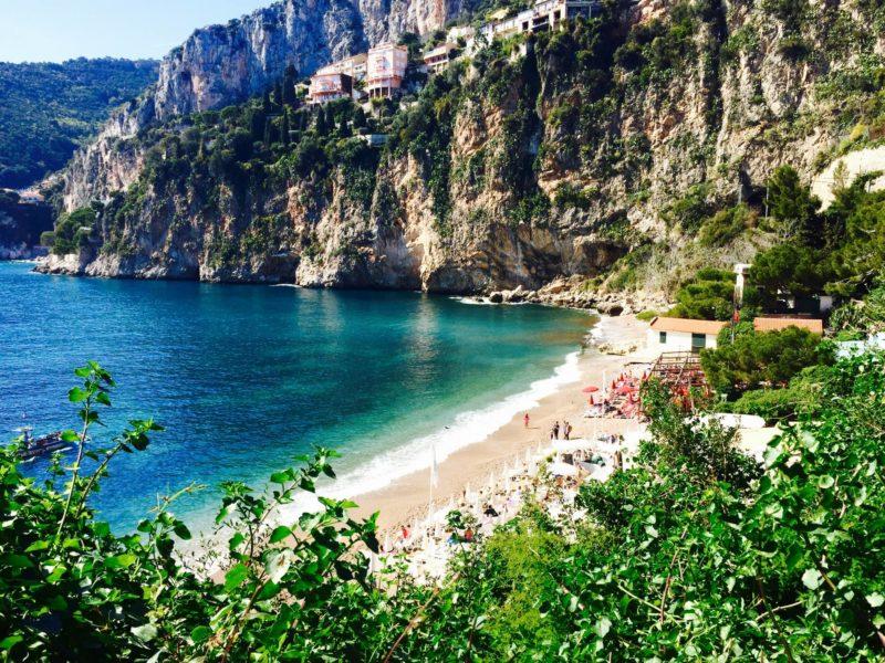 Mala Beach Cap d'Ail - Credit Justemaudinette
