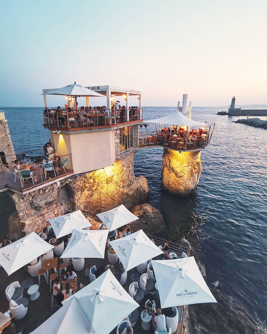 Restaurant Le Plongeoir Nice - Crédit luca_travel_