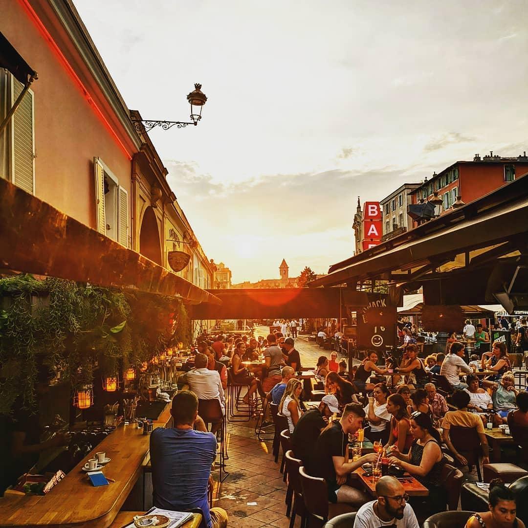 Top 5 des endroits où boire un verre à Nice - Crédit Le Blast