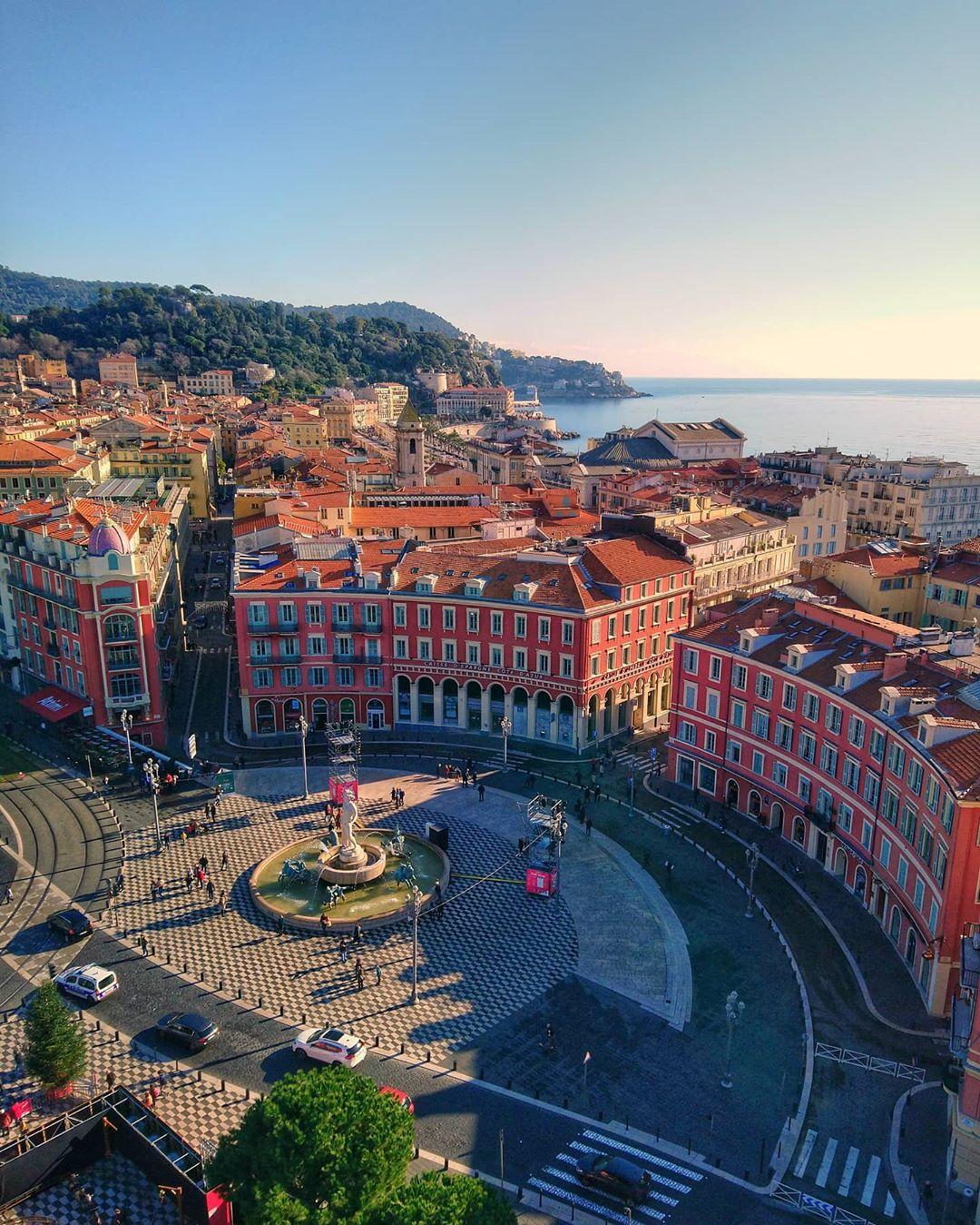 Vue depuis la Grande Roue de Nice - Crédit pasqualite