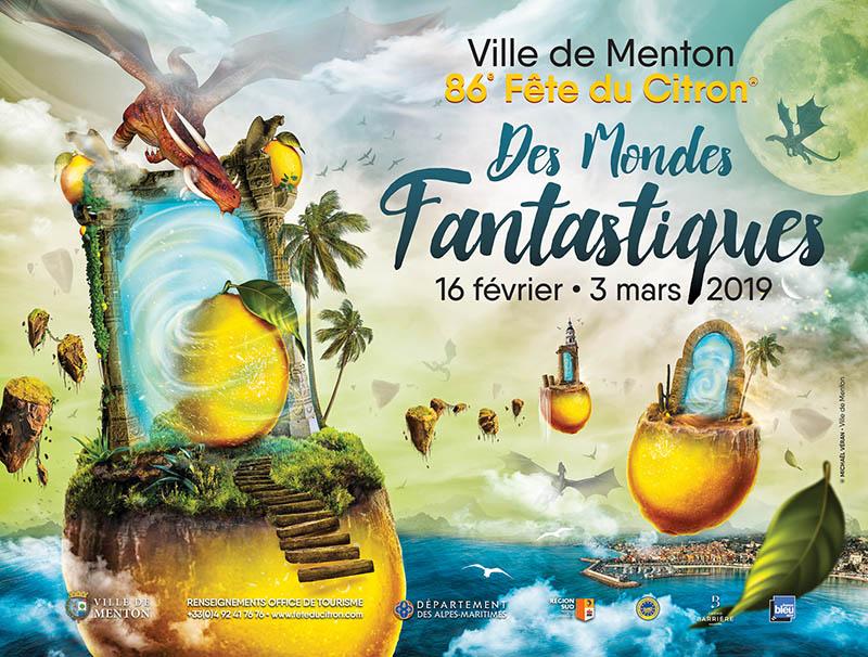 Affiche Fête du Citron 2019