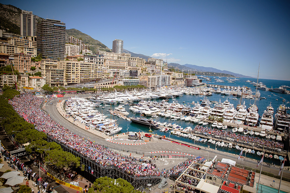 The Port of Monaco during the Formula 1 Grand Prix - Credit: Hievents