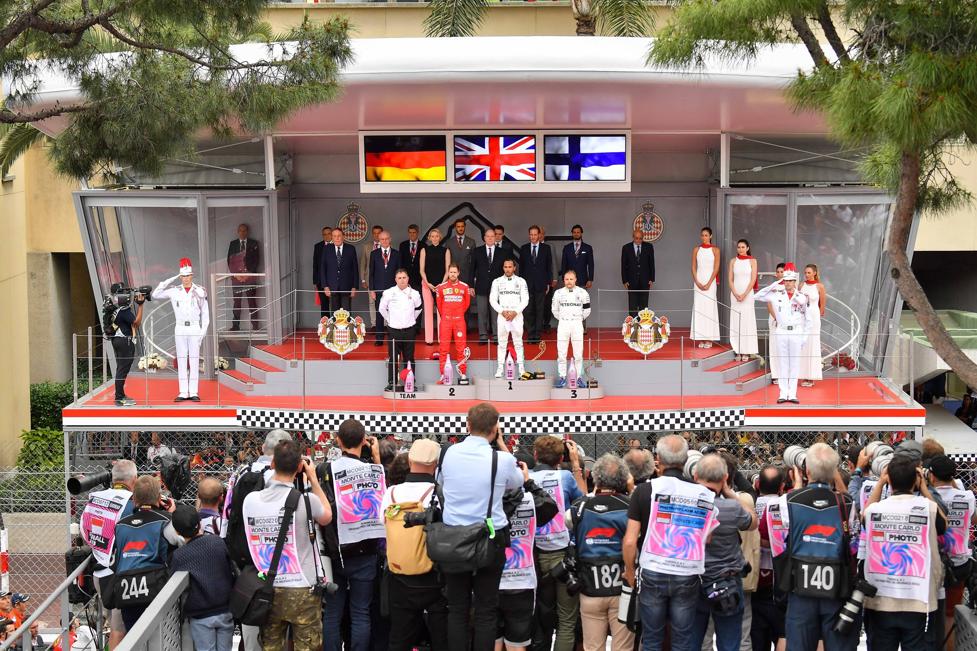 Monaco Formula 1 Grand Prix Awards Ceremony - Credit ACM_Alesi