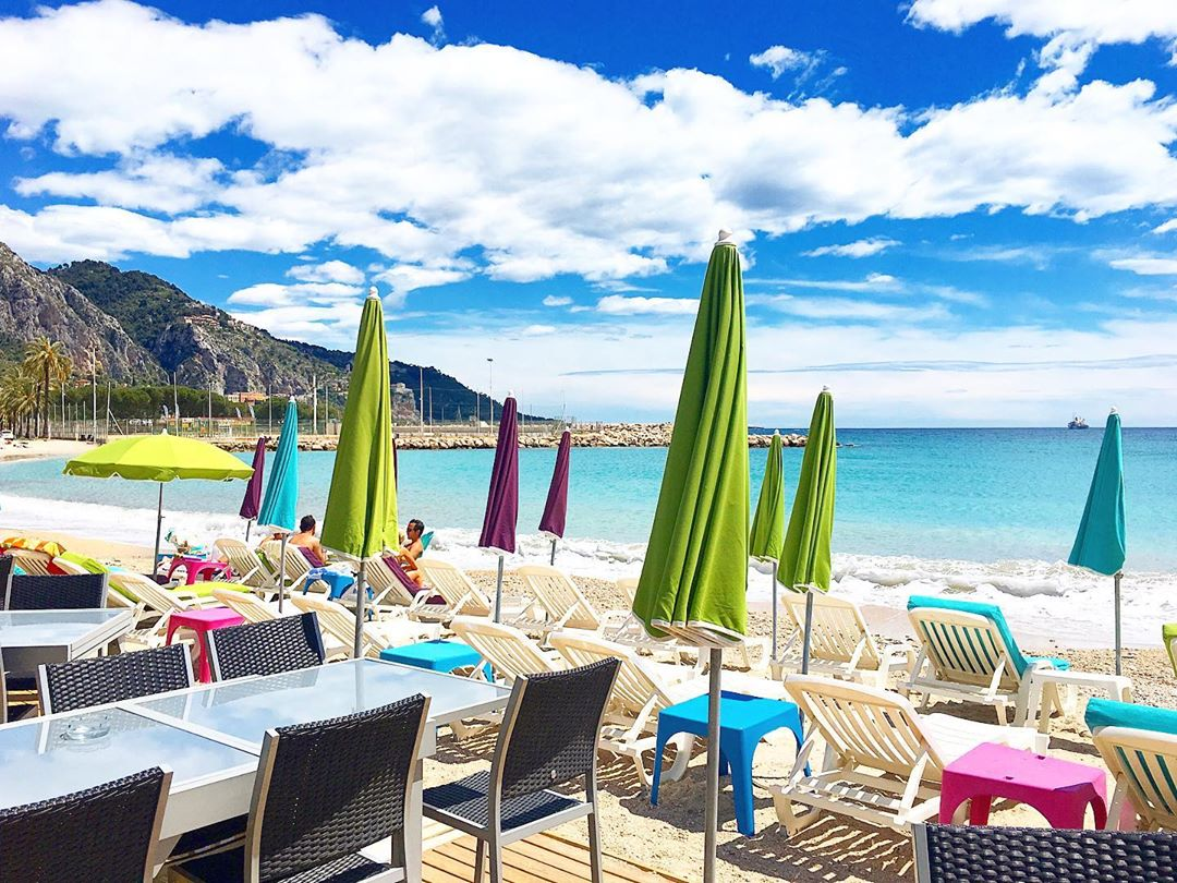 Private beach Menton - Da Mitchou - Credit phibu06