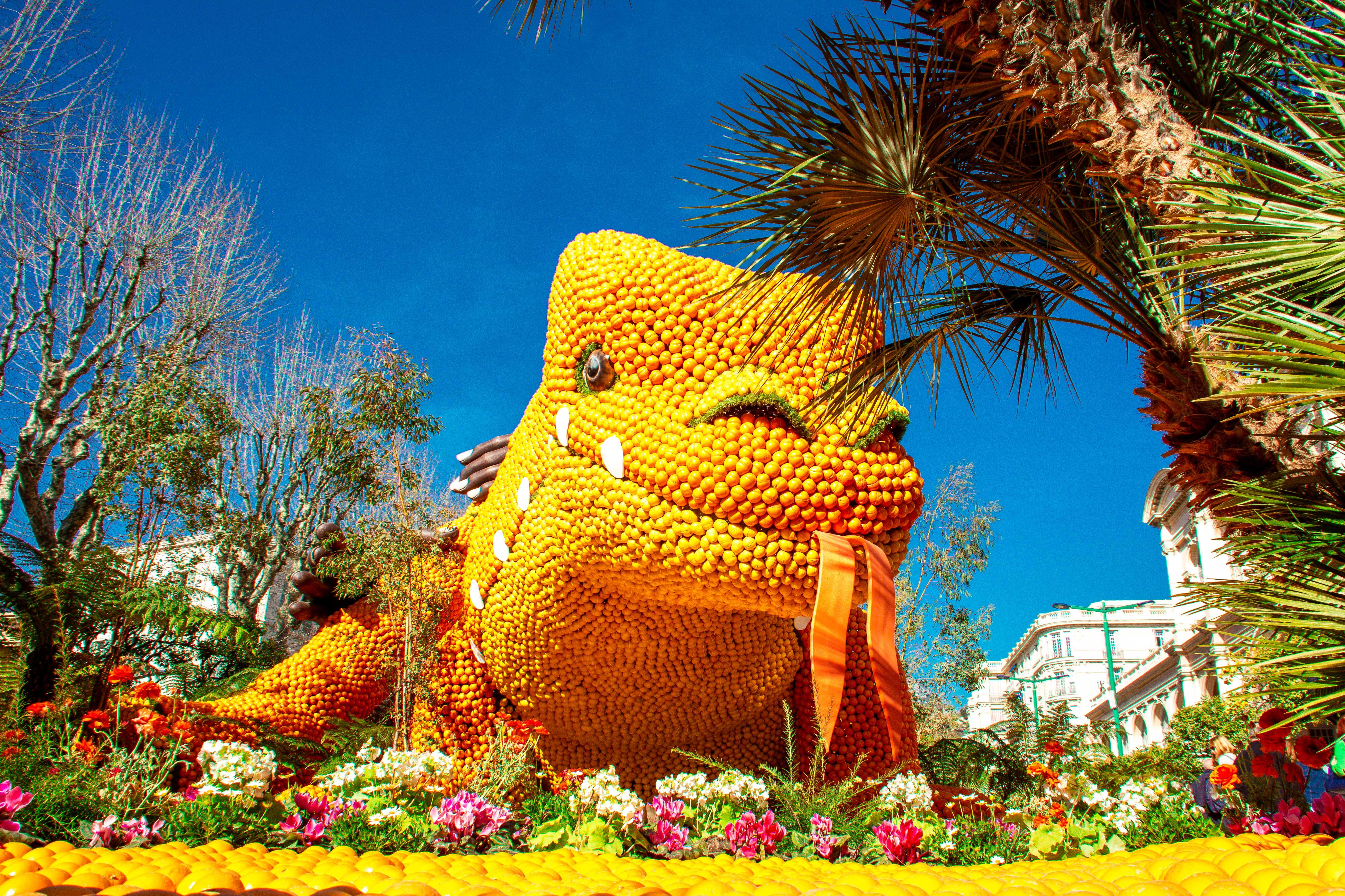 Fête du Citron aux Jardins Bioves - Nos bonnes adresses à Menton - Crédit Summer Hotels