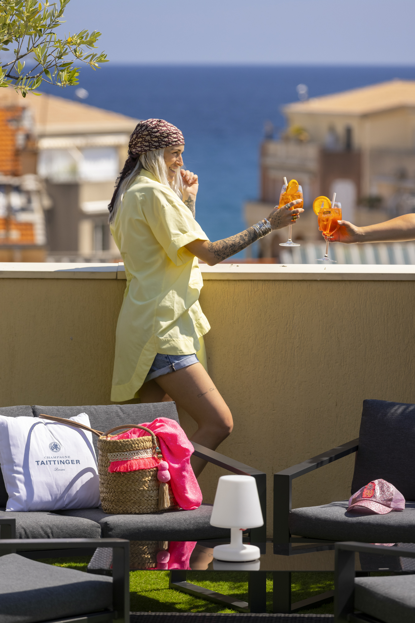 Rooftop du Best Western Hôtel Méditerranée - Nos bonnes adresses à Menton - Crédit Summer Hotels