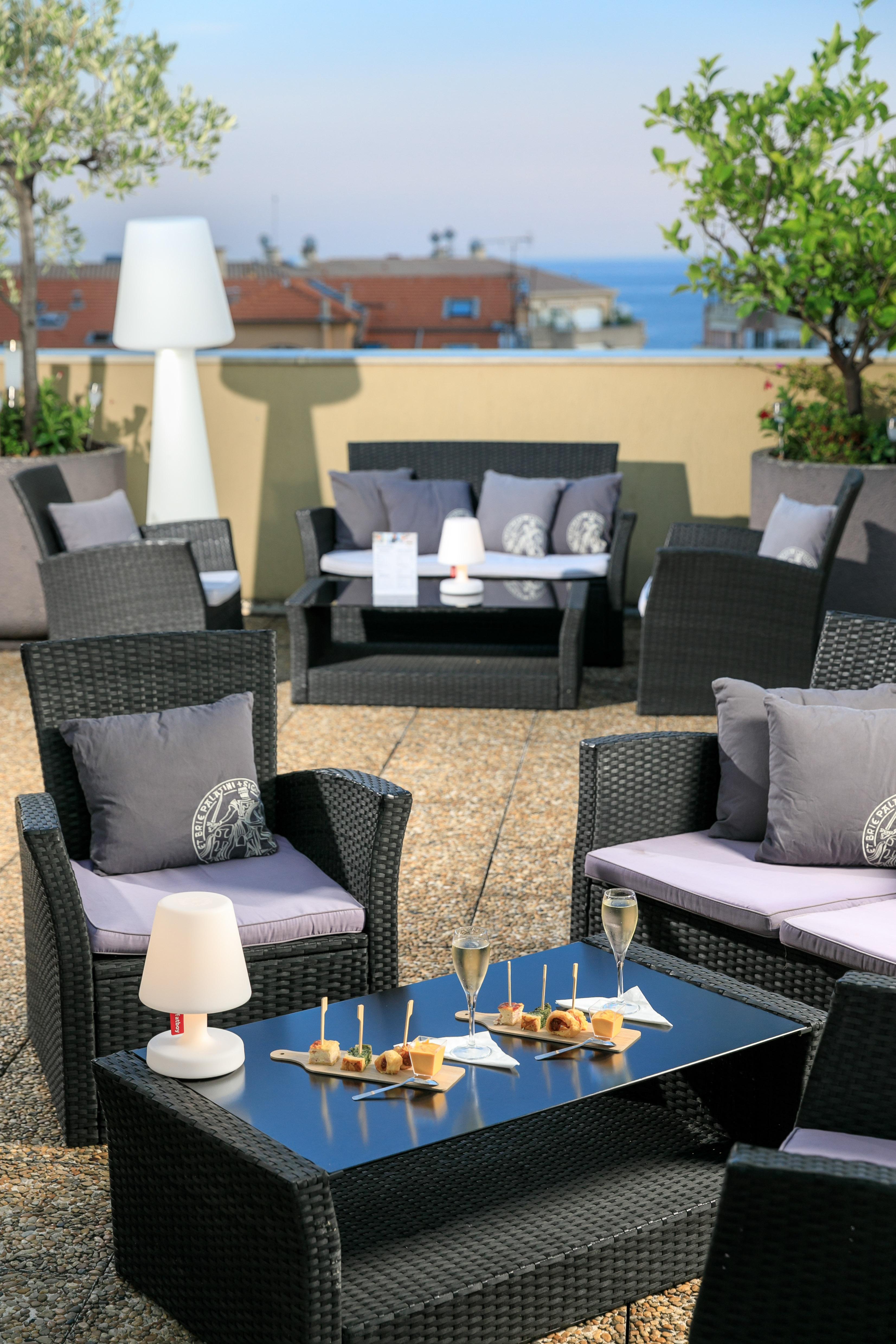 Rooftop du Quality Hôtel Menton Méditerranée
