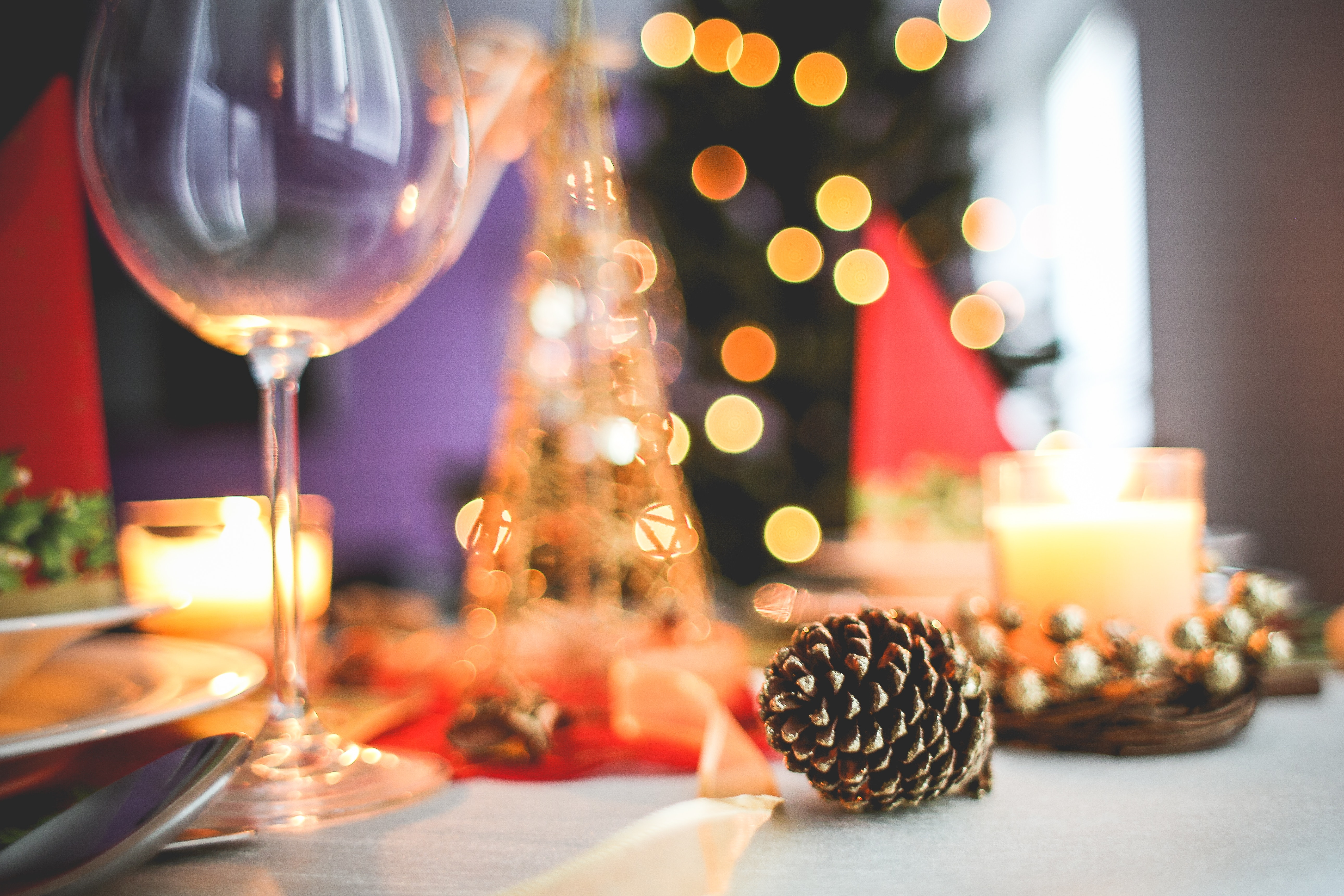 "Christmas and New Year's Eve menus  at the restaurant ""Le 5"" Menton"