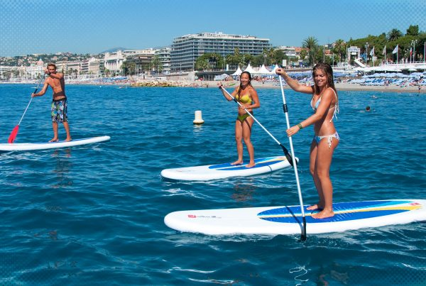 Visit the French Riviera by the sea without polluting - Credit Nikaia Water Sport