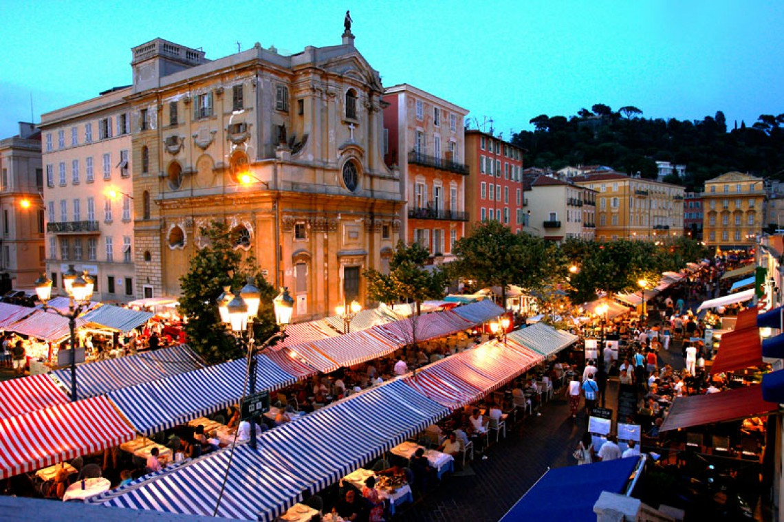 Night craft market of Nice - Credit Office de Tourisme de Nice​