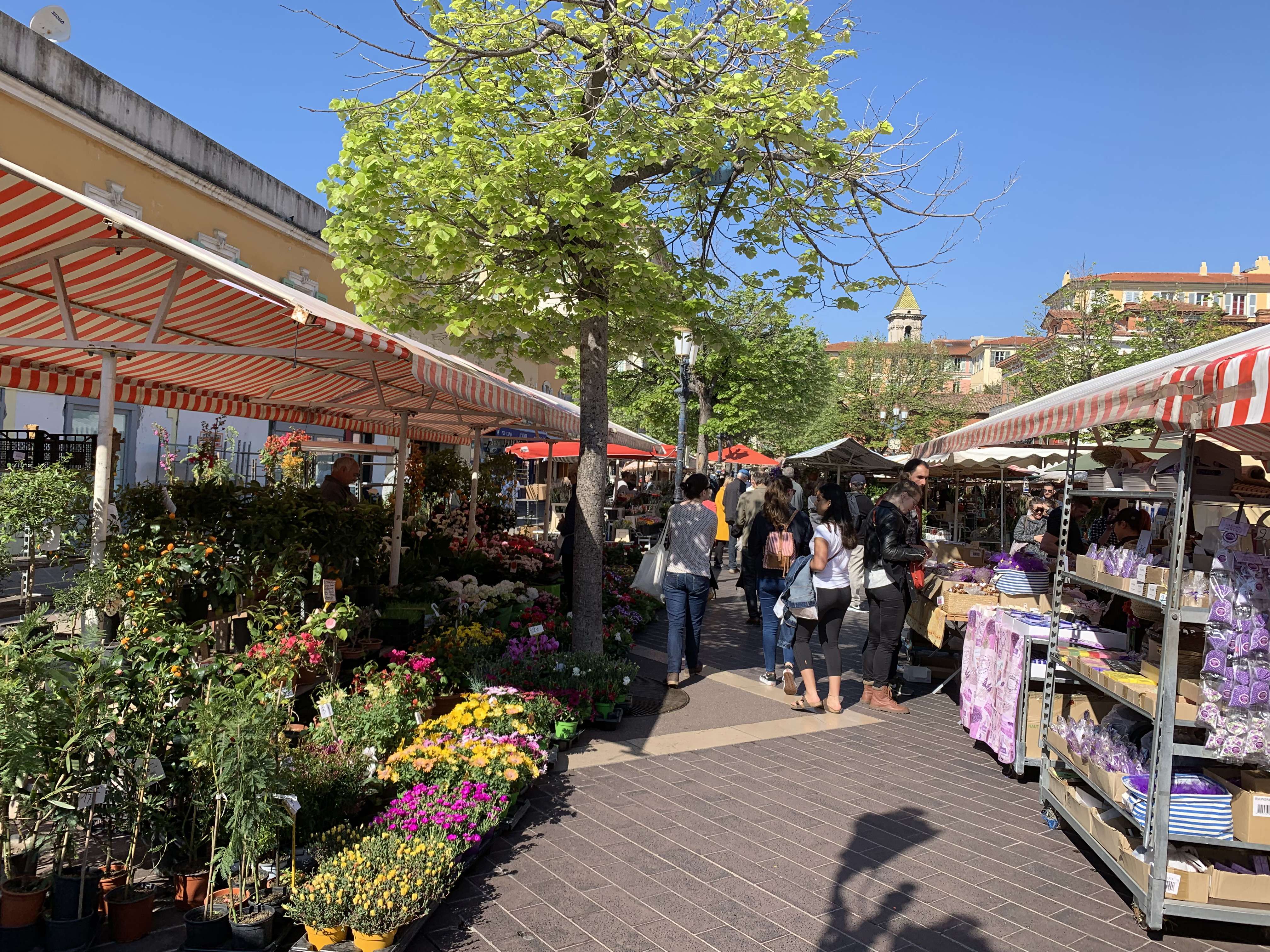 Cours Saleya Market Nice - Credit Summer Hotels