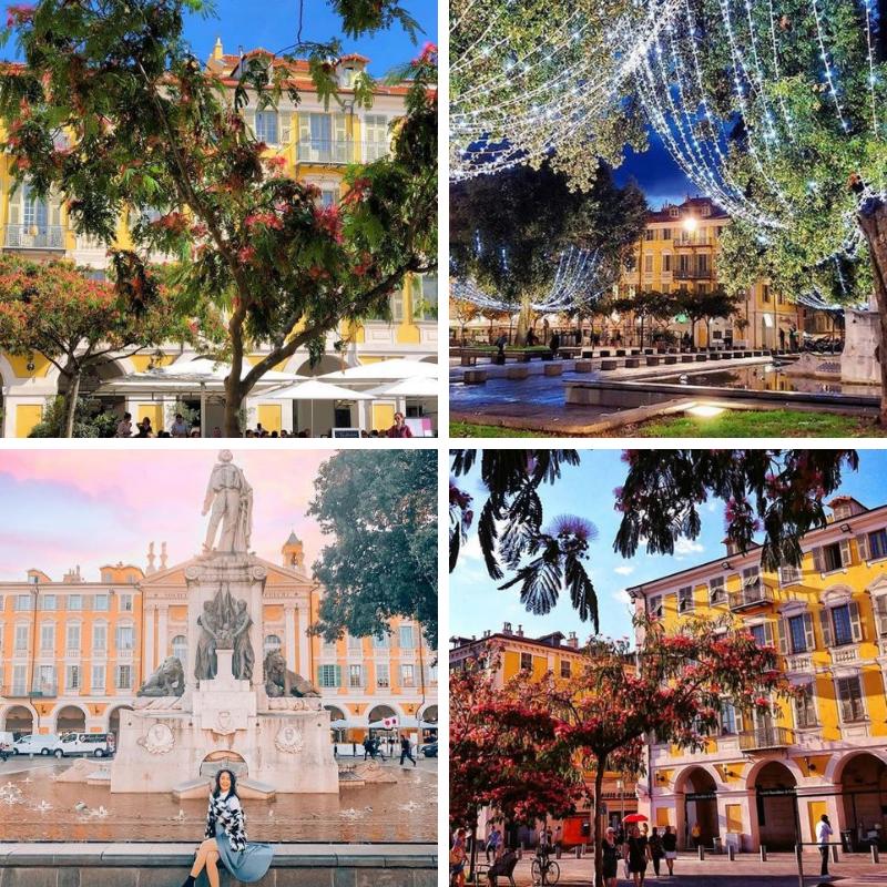 Place Garibaldi - Crédits : rozenn_krebel - ig_cotedazur - michelleinanto - flore_s