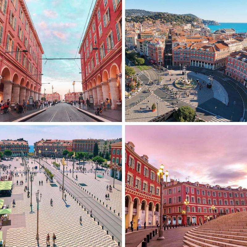 Place Masséna Nice - Crédits : juliadvd - cate06nice - tanocaminho - clefdureve