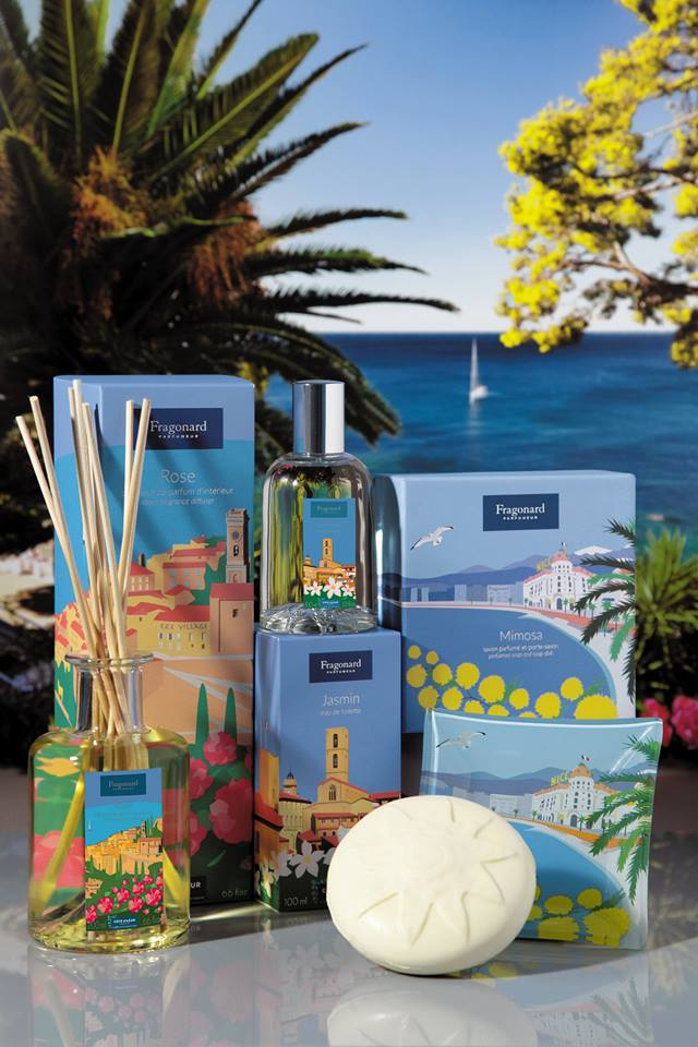 Perfume with the scents of the French Riviera - Credit Fragonard Parfumeur