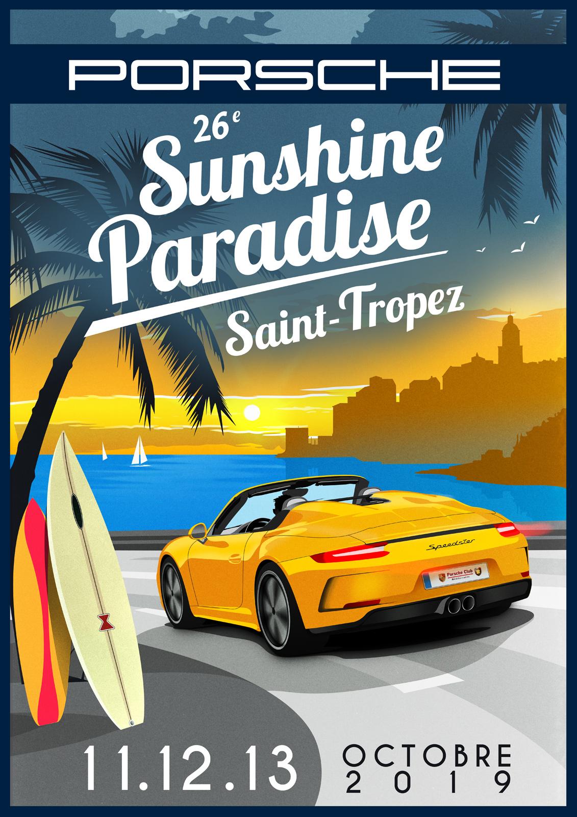 Paradis Porsche