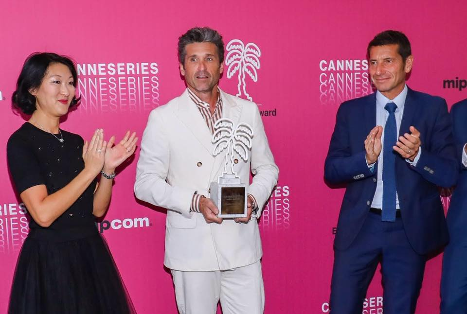 CANNESERIES Trophy 2019 - Patrick Dempsey