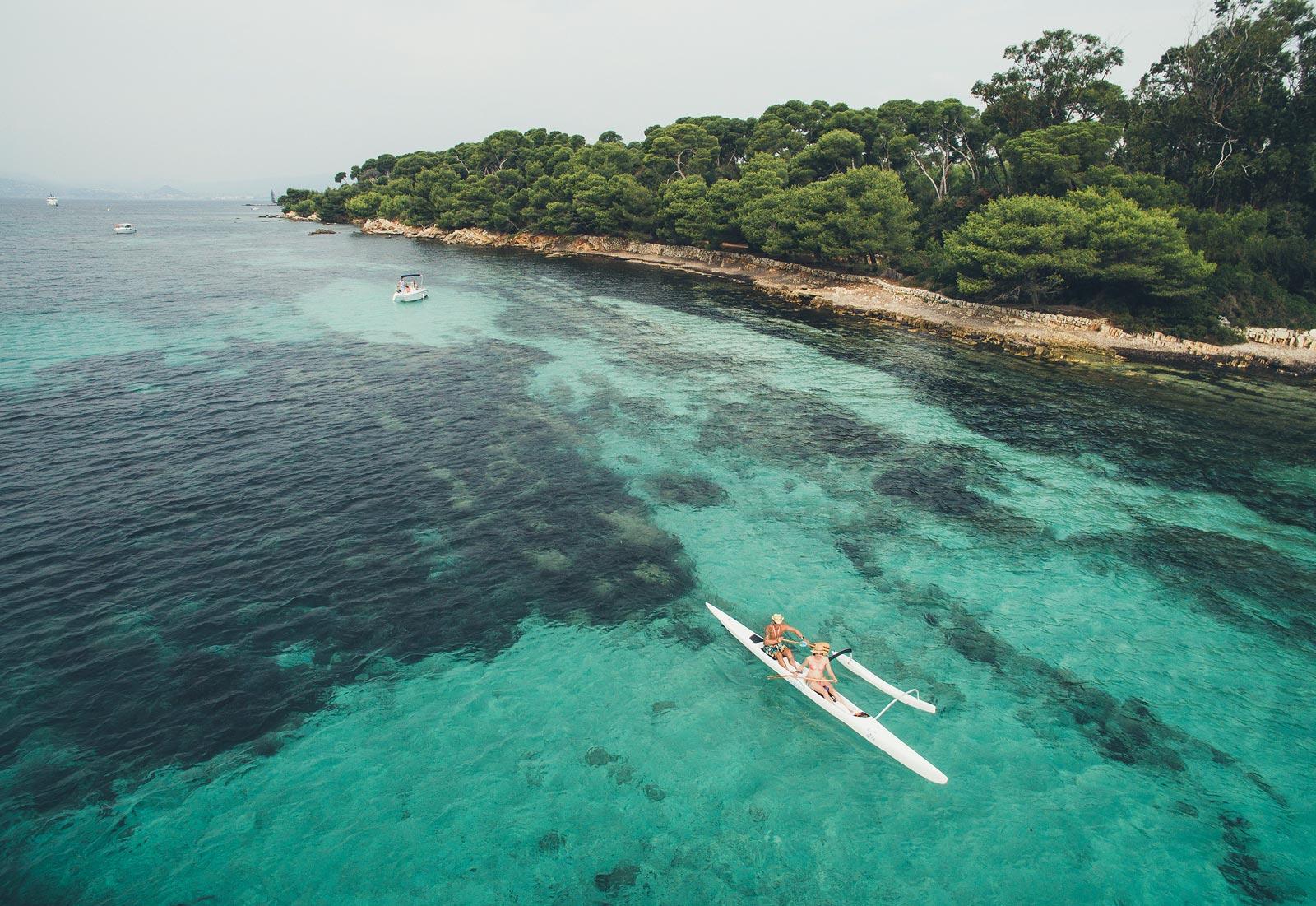 Balade en kayak Îles de Lérins Cannes Crédit Bestjobersblog