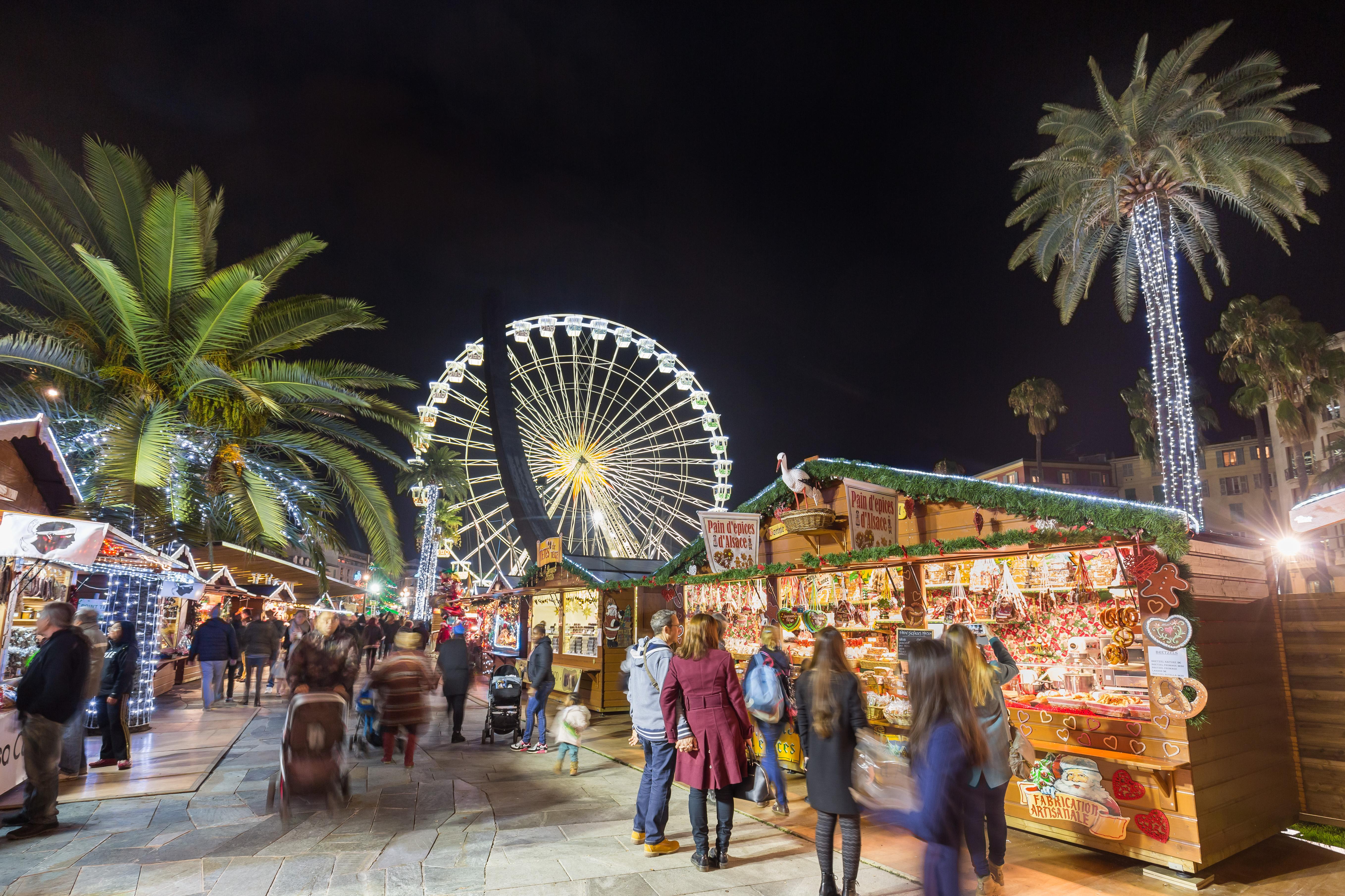 Marché de Noël Nice - Crédit Hervé Fabre