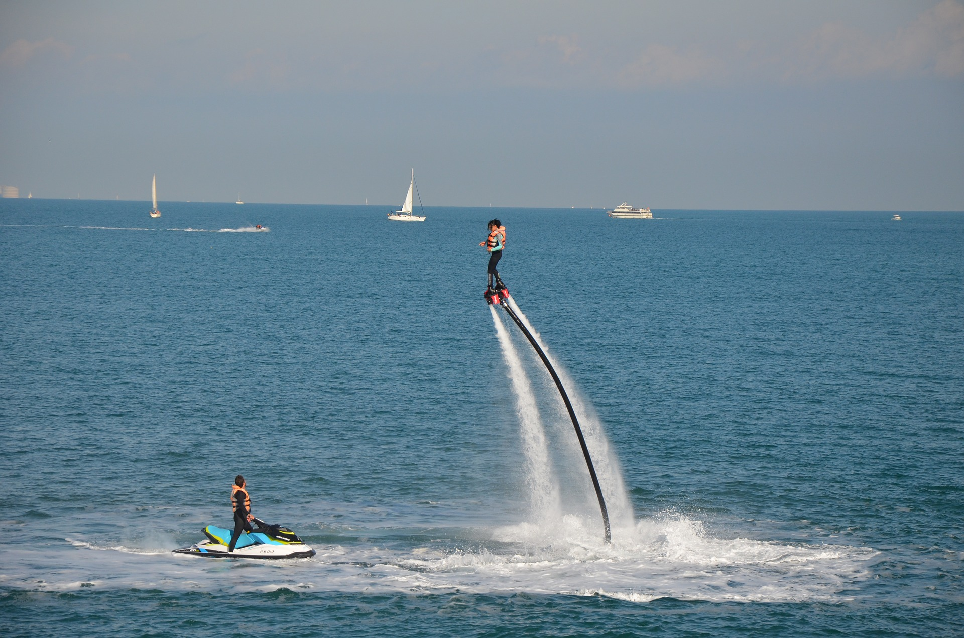 Nautical Activities and Water sport in Nice - Flyboard