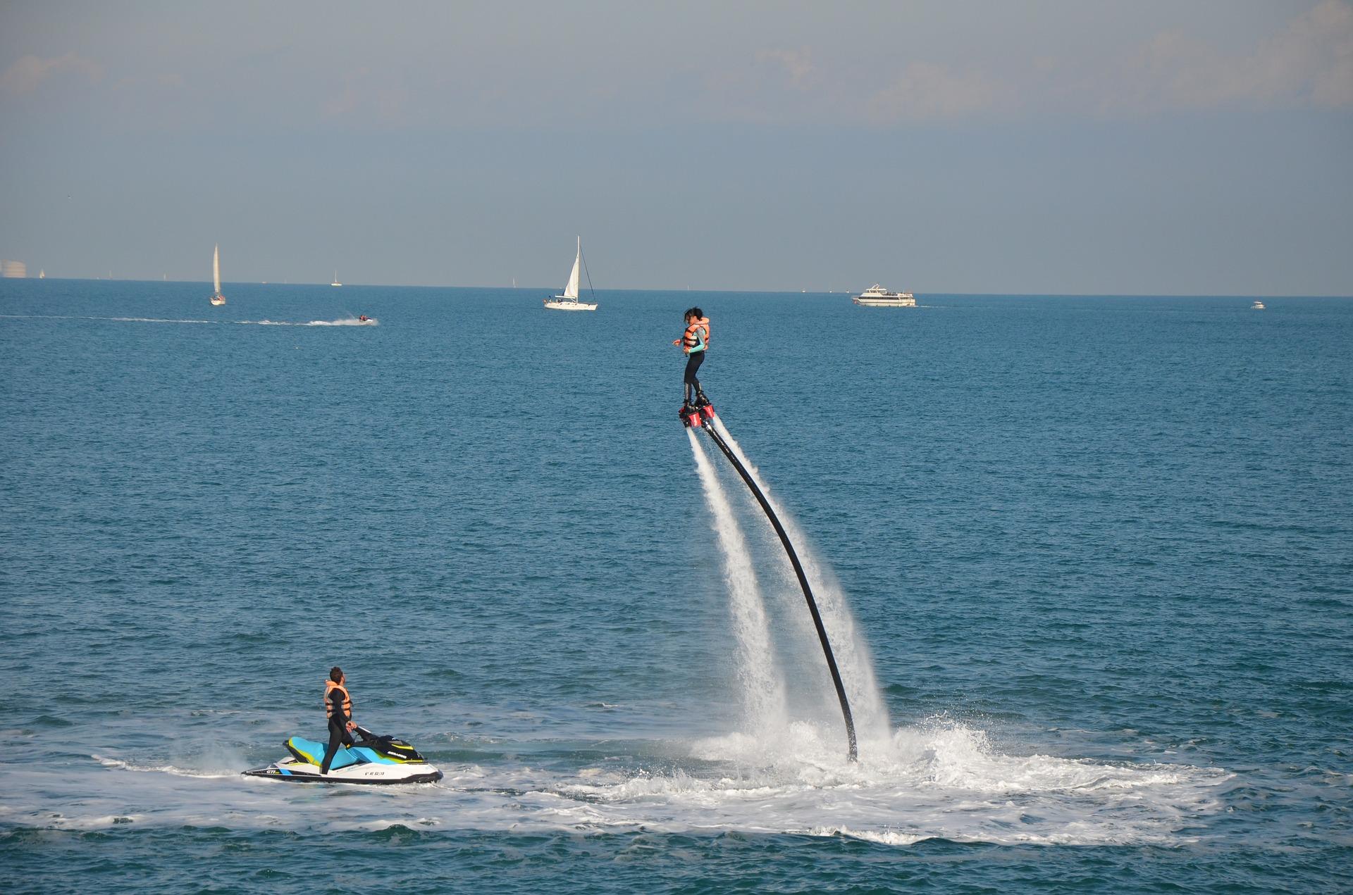 Activités Nautiques et Water sport à Nice - Flyboard