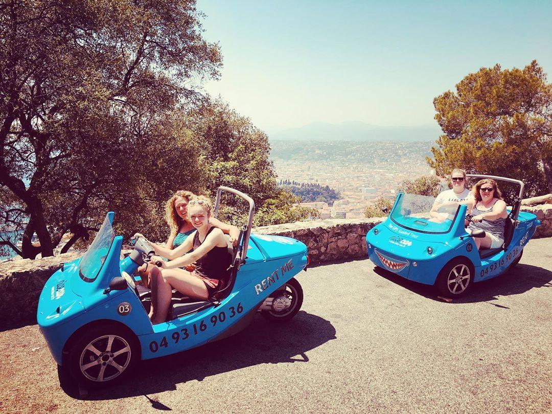 Visite insolite de Nice avec NiceCar - Crédit Nice Car