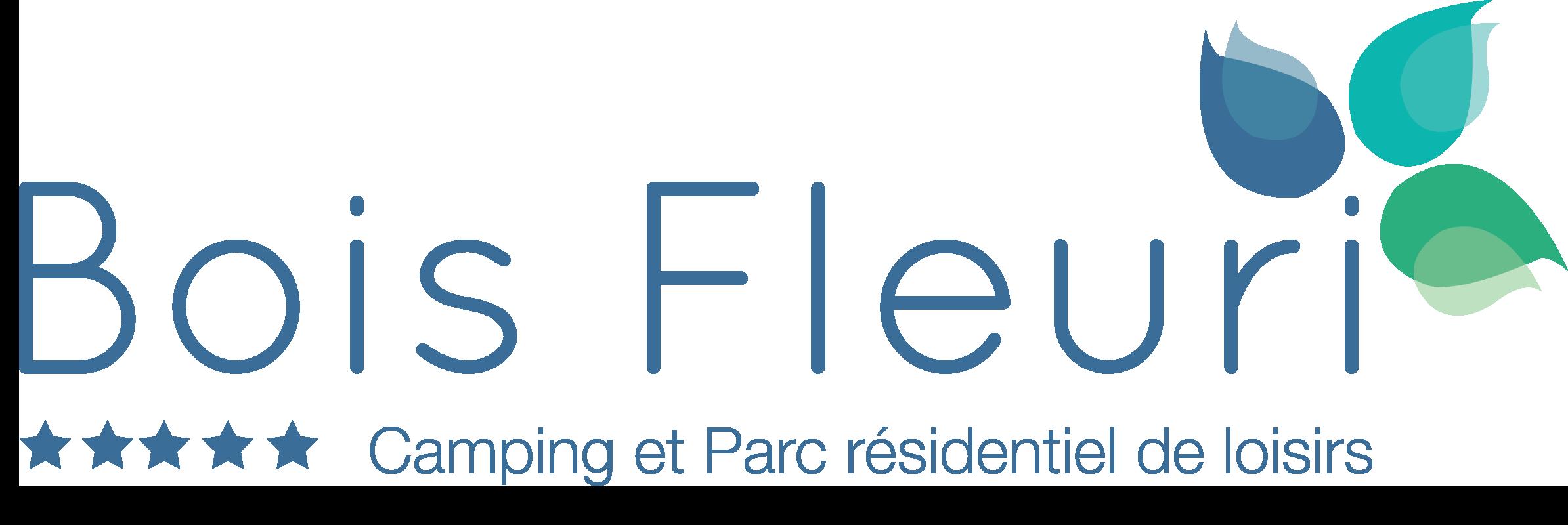 logo du camping Le Bois Fleuri à Argeles sur Mer