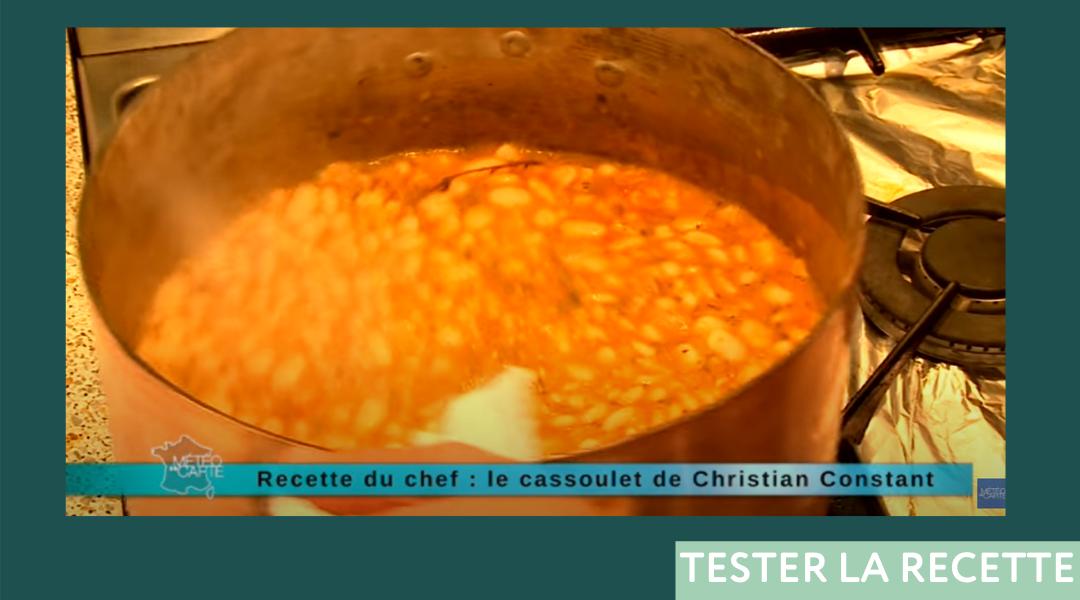 La recette de Cassoulet Christian Constant Revenue Management Hôtelier